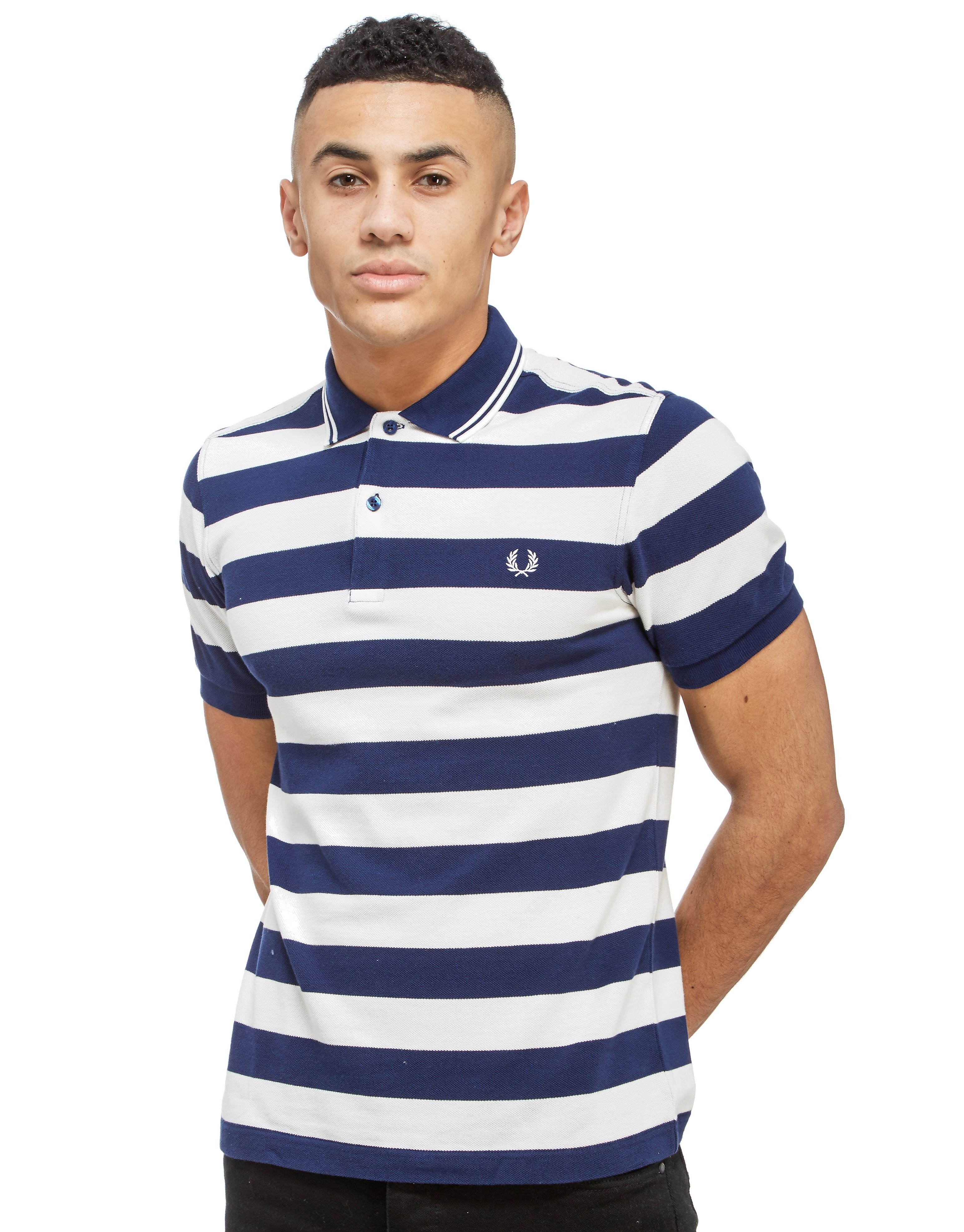 Fred Perry Rugby Stripe Polo Shirt