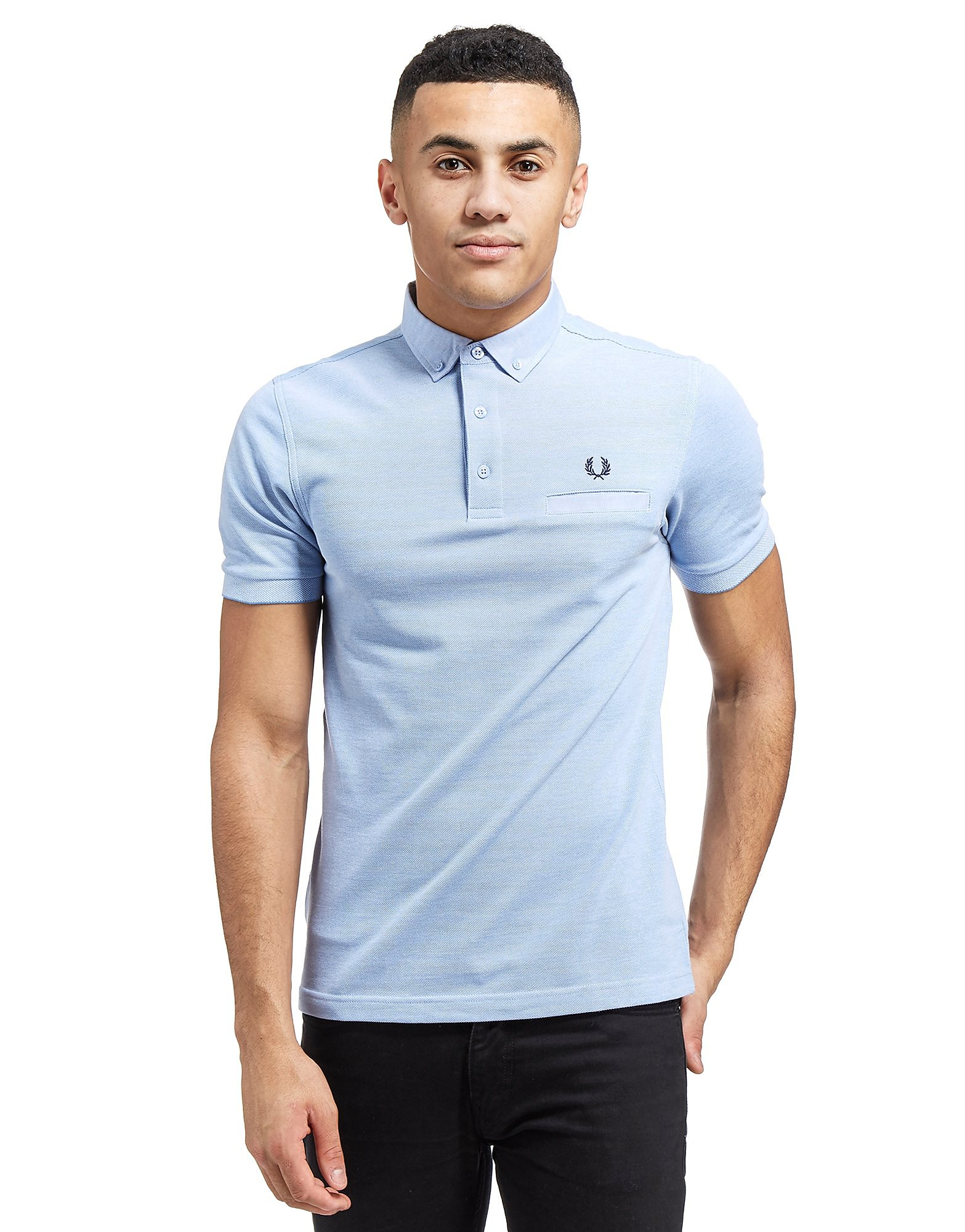 Fred Perry Woven Trim Pique Shirt