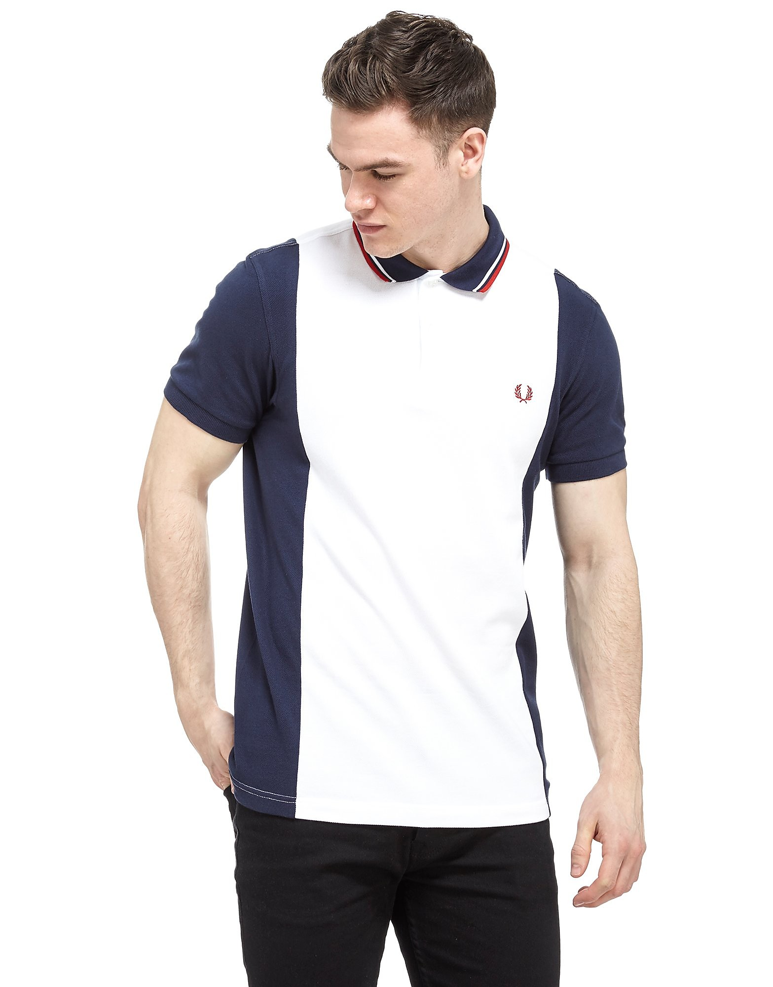 Fred Perry Panel Pique Polo Shirt