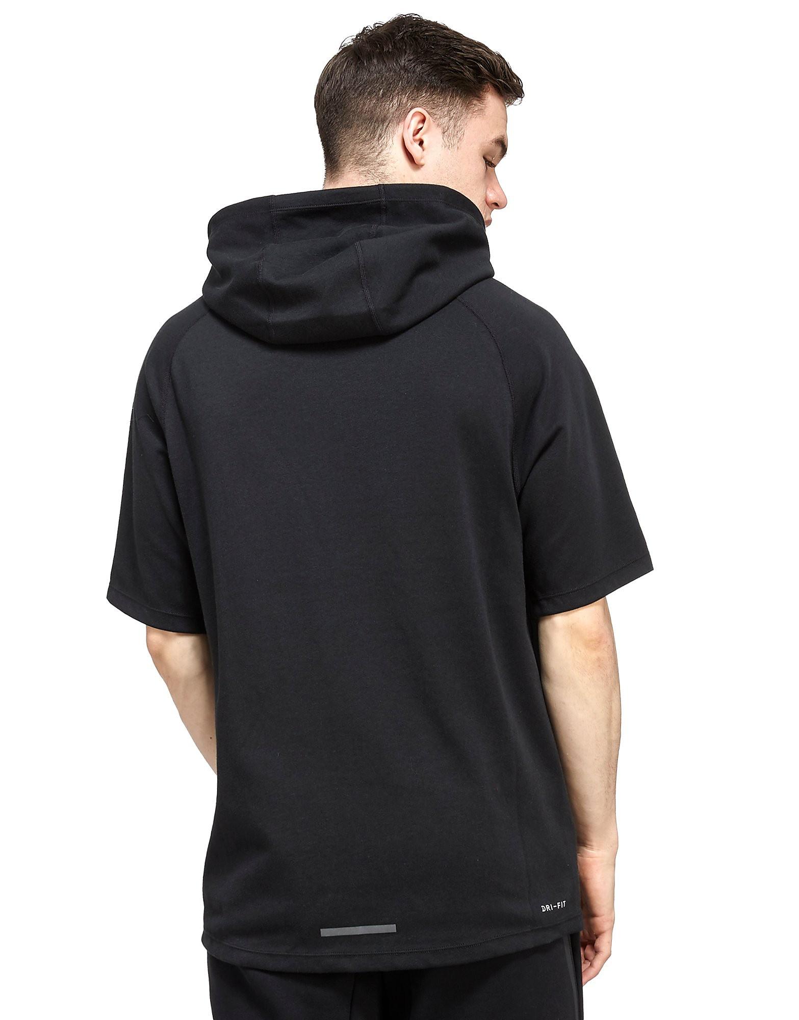 Nike Sudadera con capucha de manga corta para ciudad