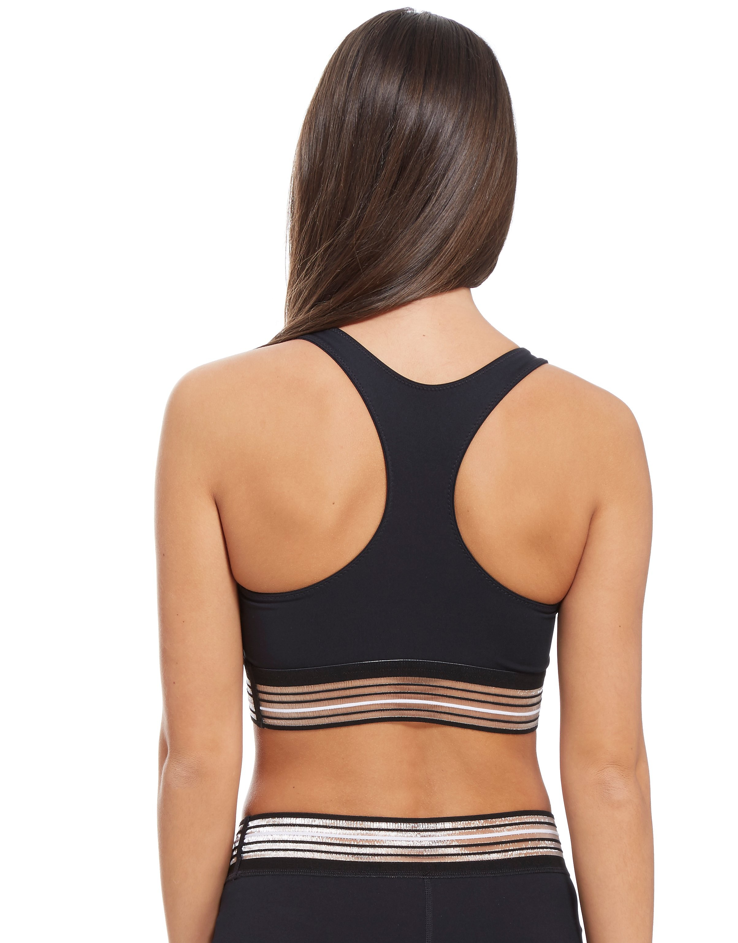 IVY PARK Stripe Logo Sports Bra