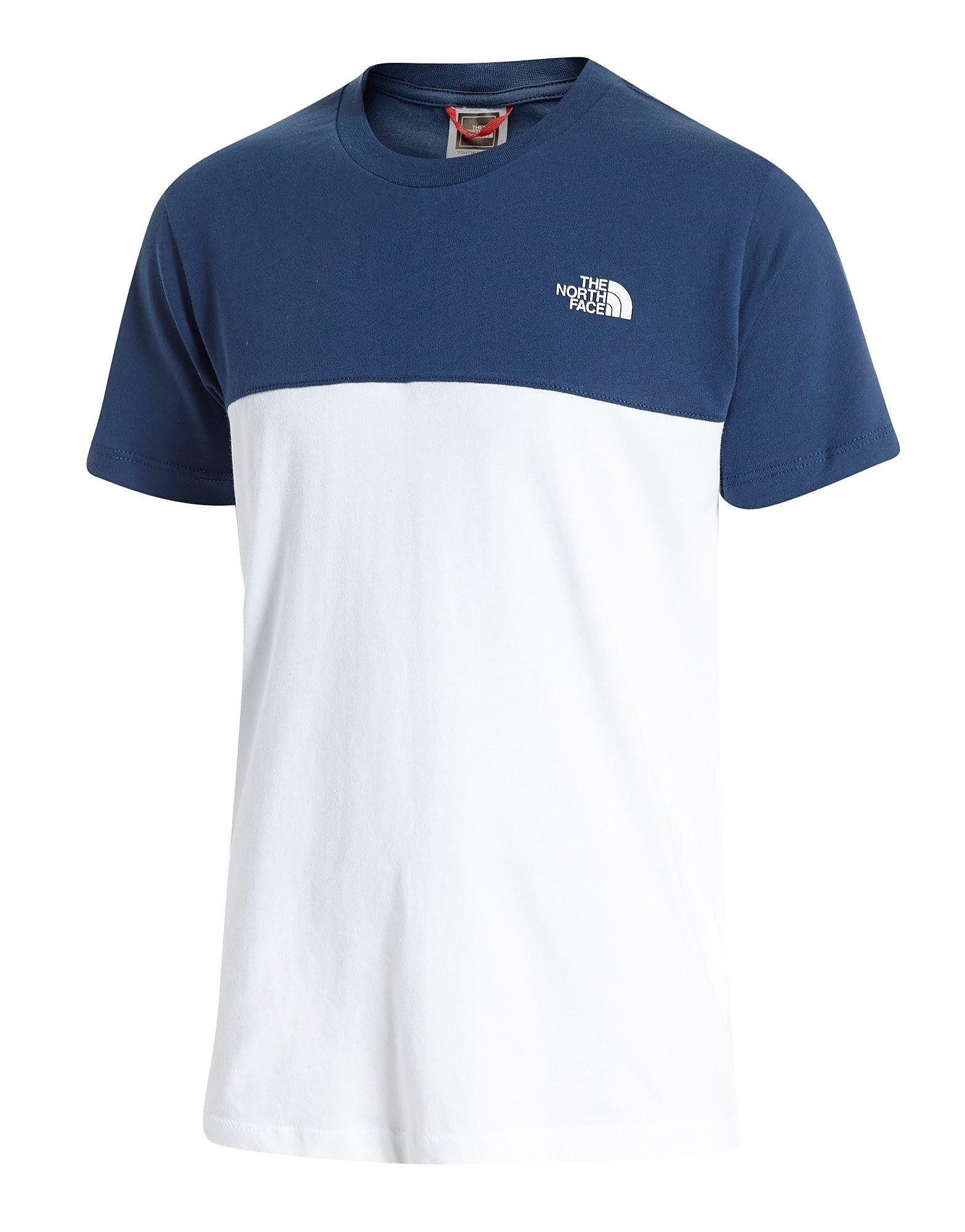 The North Face Colour Block T-Shirt Junior