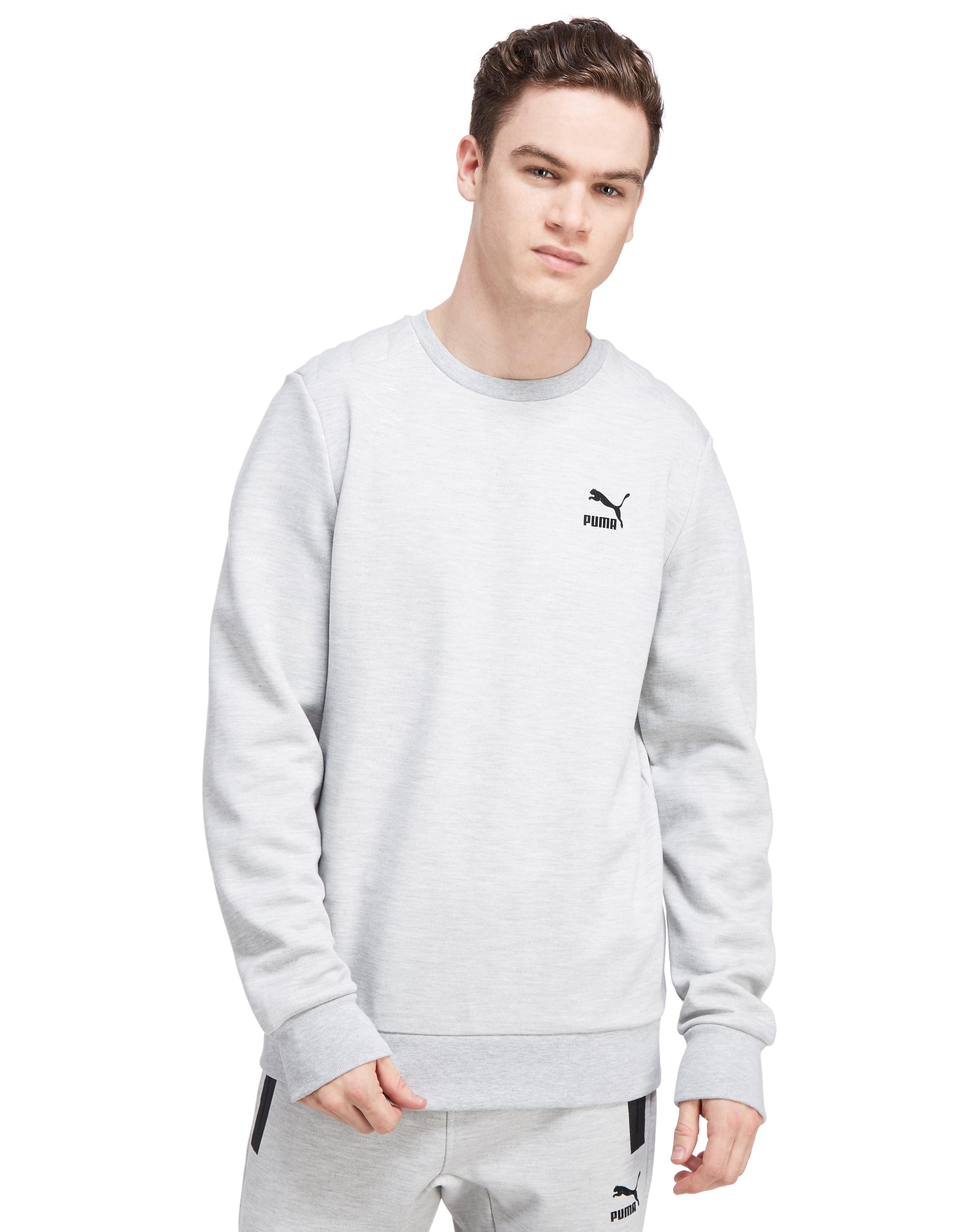 PUMA Evo Quilt Crew Sweatshirt