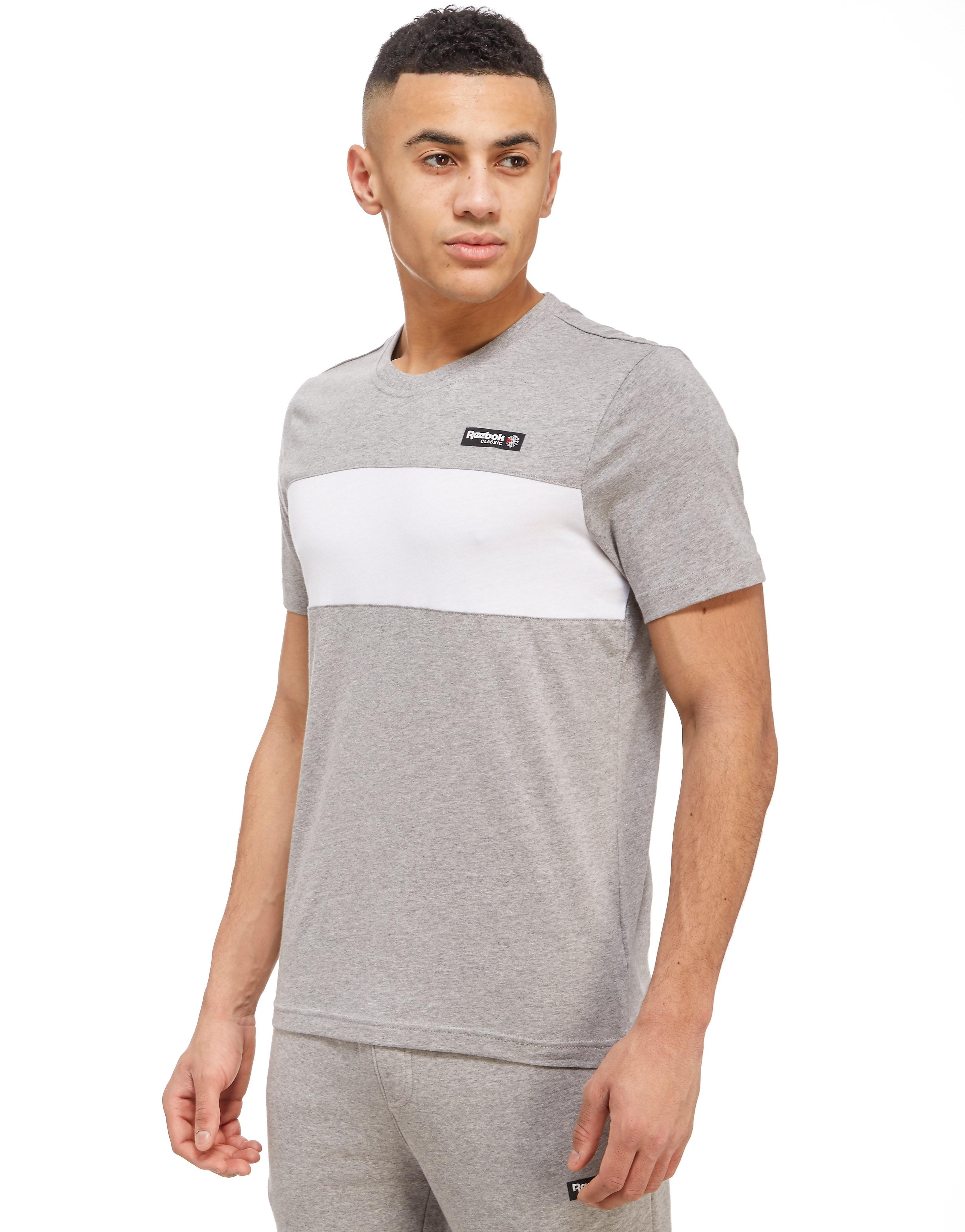 Reebok Camiseta clásica con franja