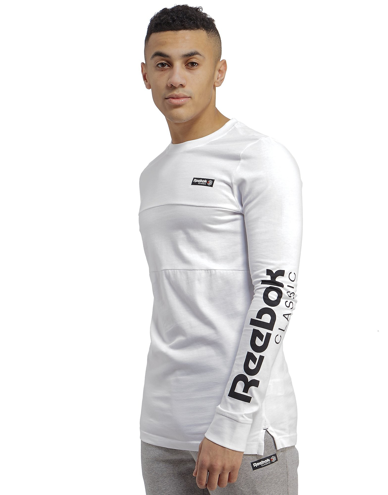 Reebok Classic Long Sleeve Logo T-Shirt