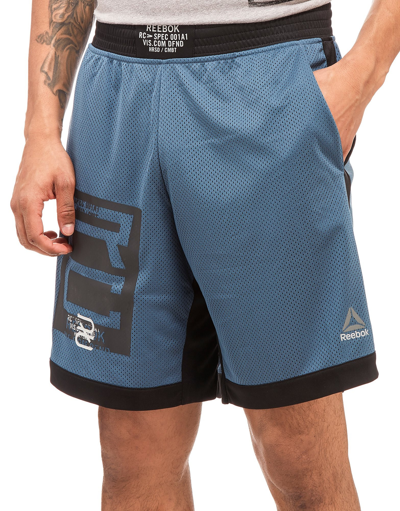 Reebok Pantalones de combate de boxeo