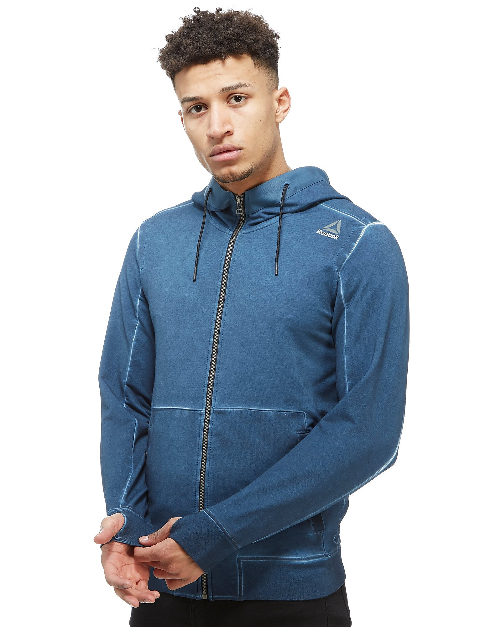 Reebok Sweat à capuche The Noble Fight Washed Zip