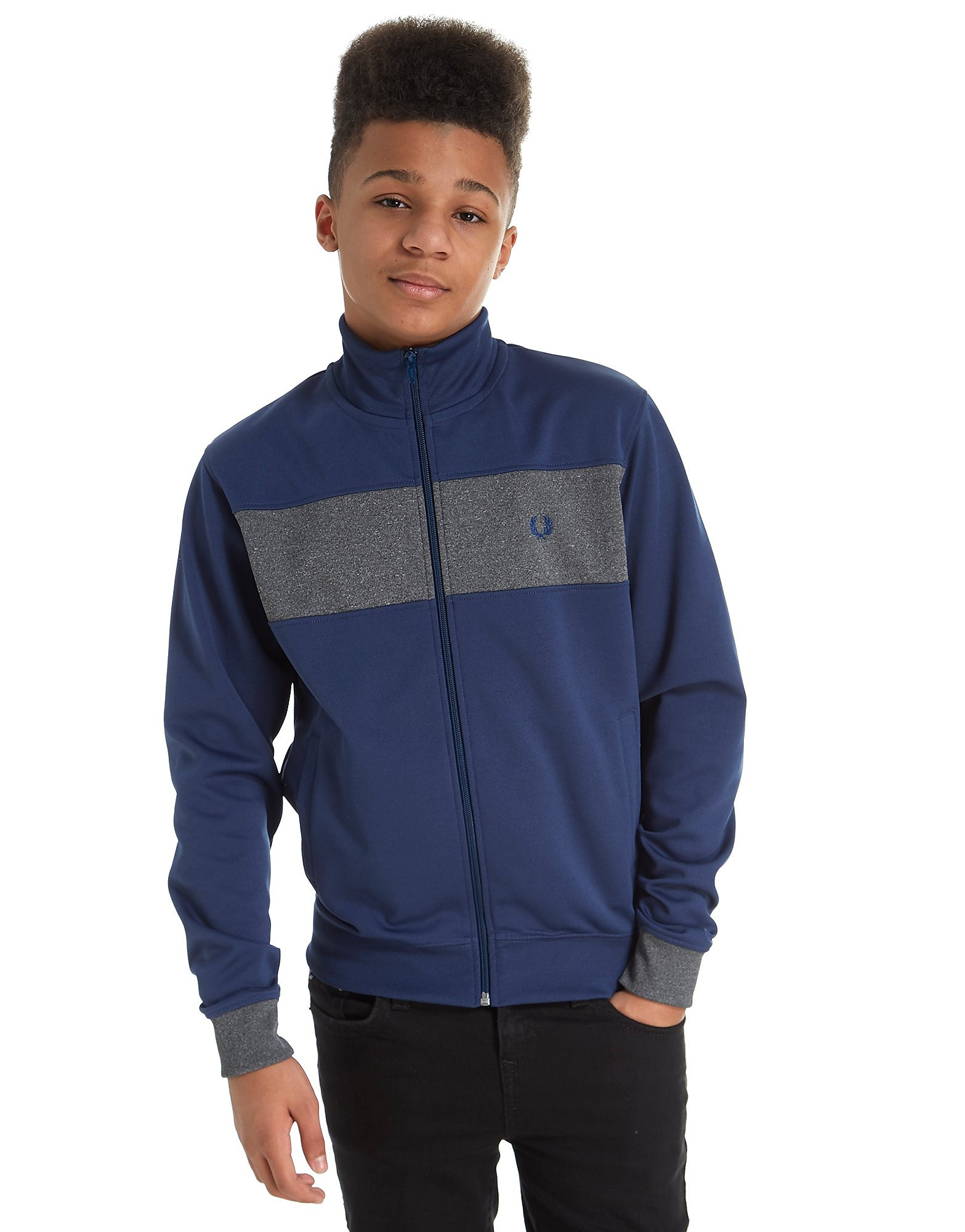 Fred Perry Chest Panel Track Top Junior