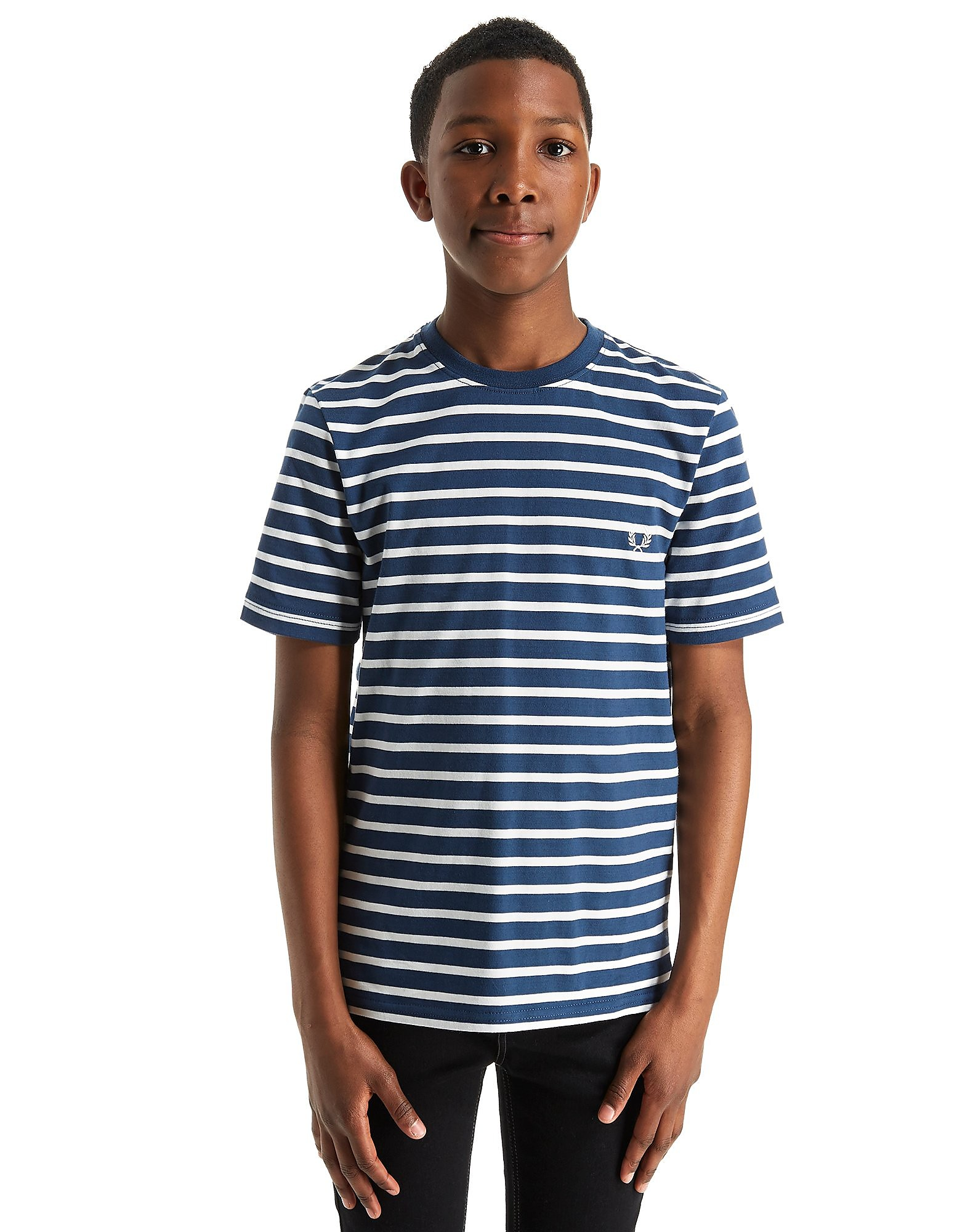 Fred Perry Breton Stripe T-Shirt Junior