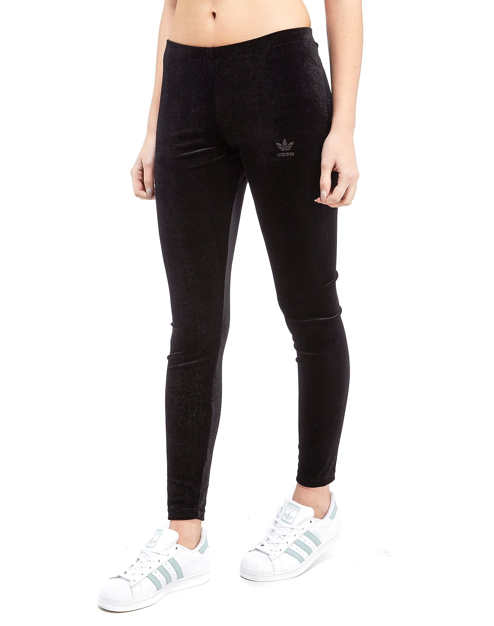 adidas Originals Trefoil Velvet Leggings