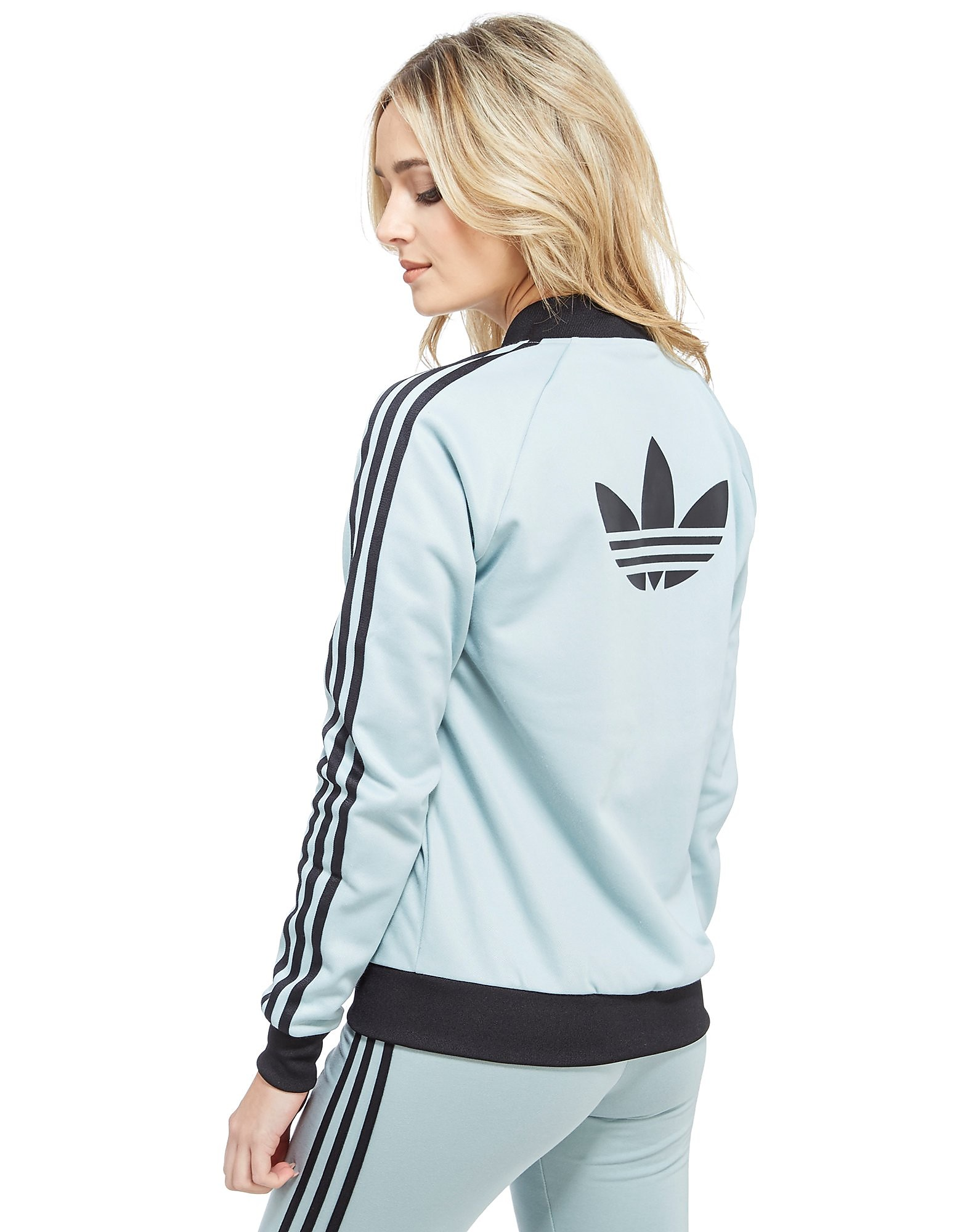 adidas Originals Supergirl Stripe Track Top
