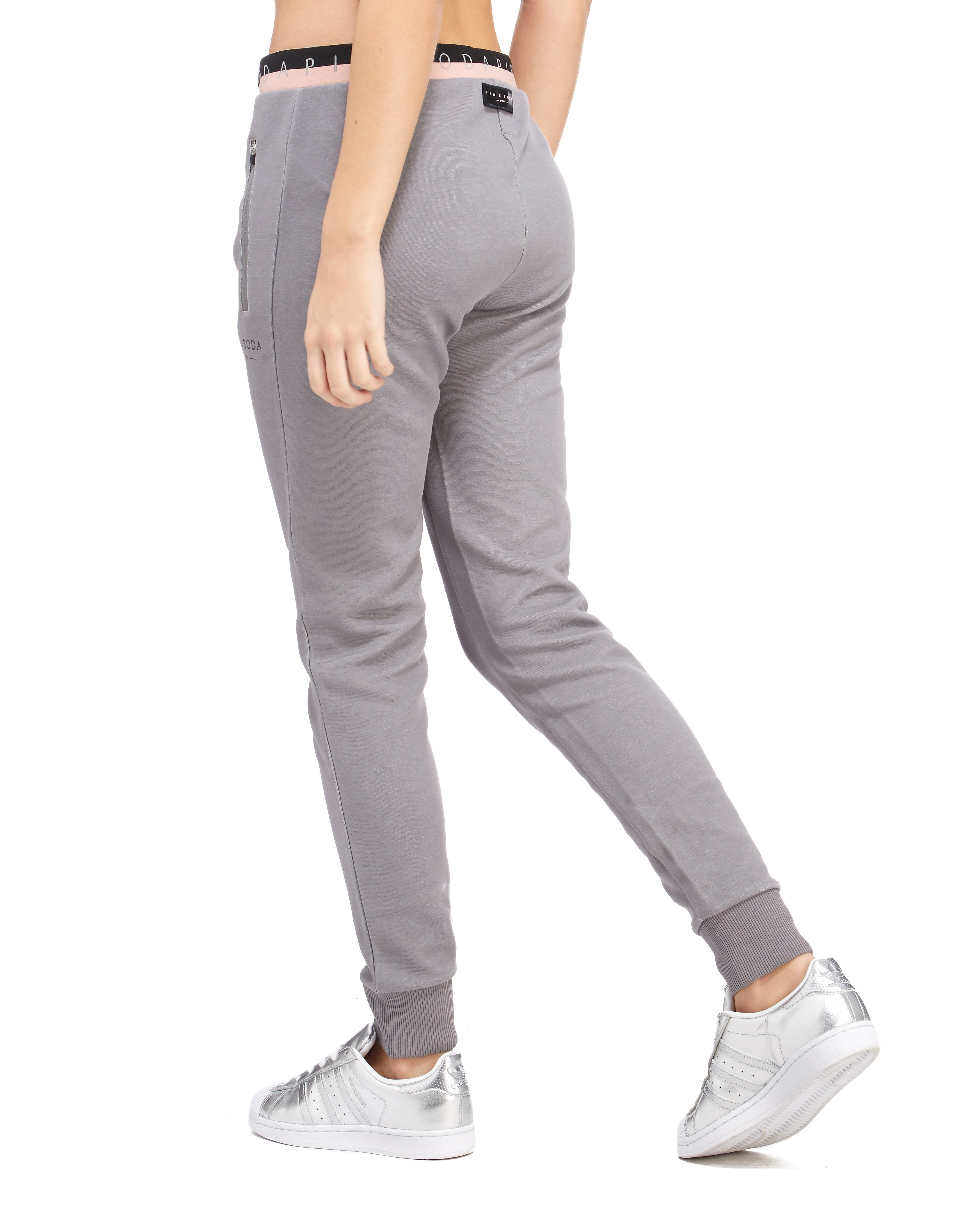 Pink Soda Sport Tape Jogging Pants