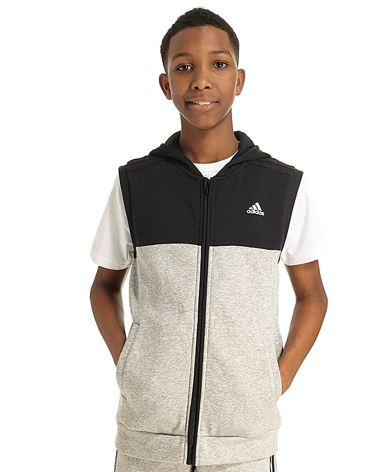 adidas Linear Sleeveless Hoody Junior