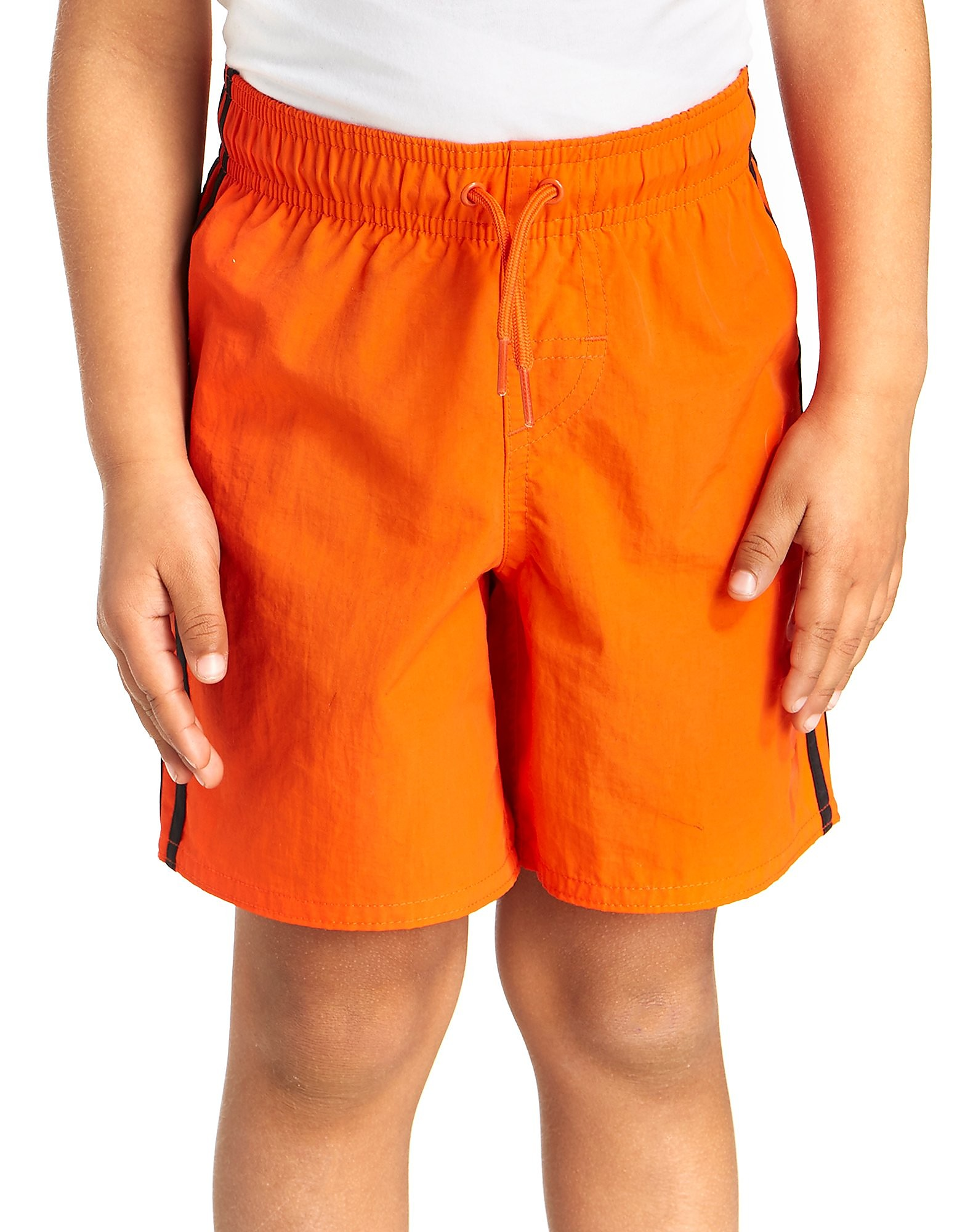 adidas Short de bain Linear pour enfant - Only at JD - Energy Orange/Black, Energy Orange/Black