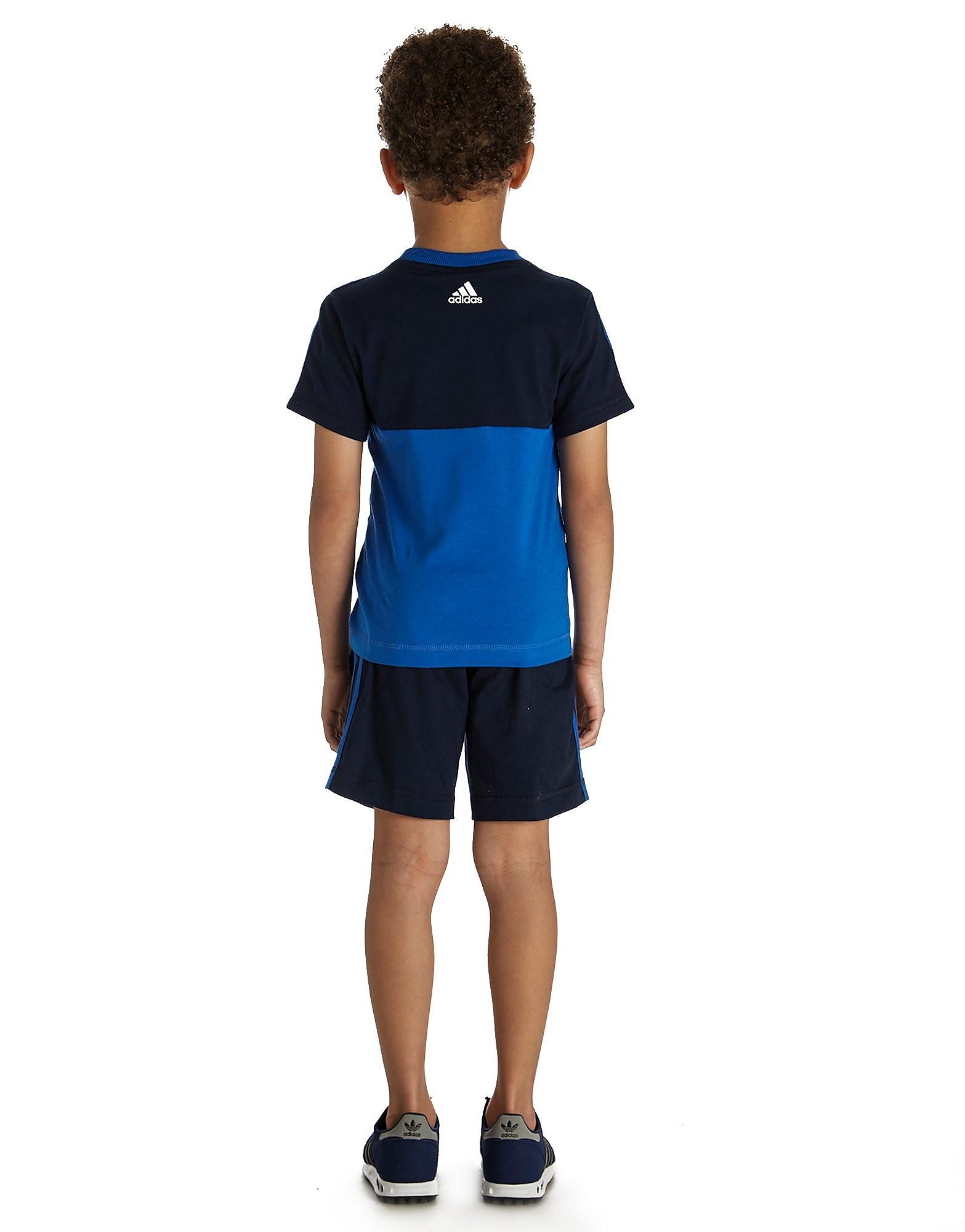 adidas Linear T-shirt/Shorts Set Bambino