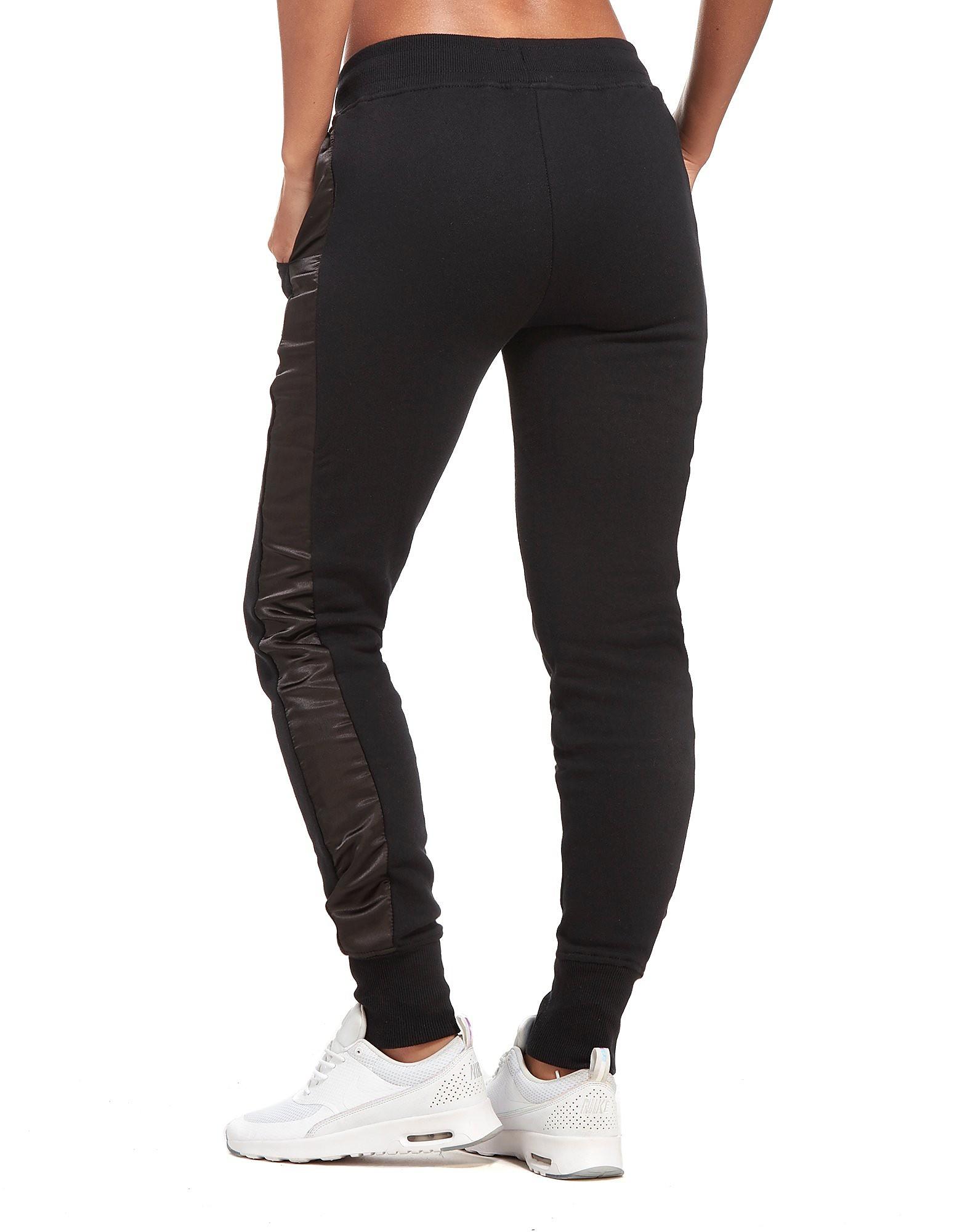 Ellesse Pantalon de survêtement Satin Panel Fleece Femme