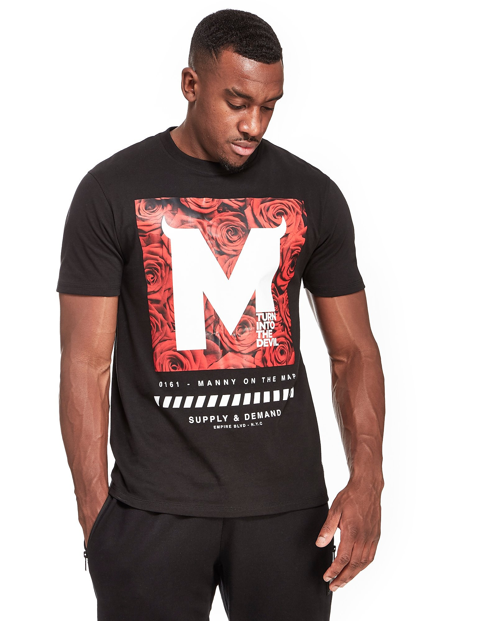 Supply & Demand x Bugzy Malone Rose Block T-Shirt PRE-ORDER