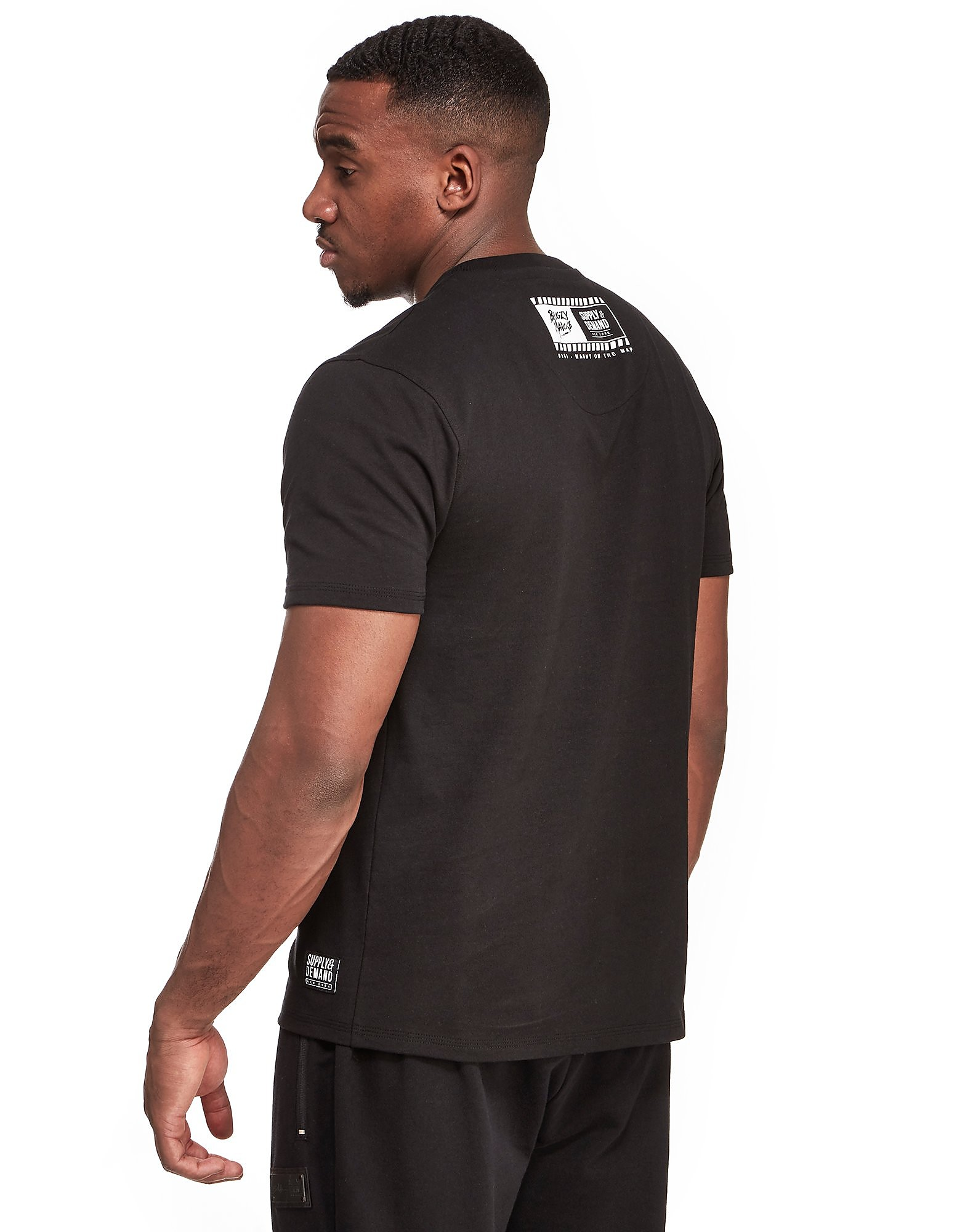 Supply & Demand x Bugzy Malone Rose Block T-Shirt