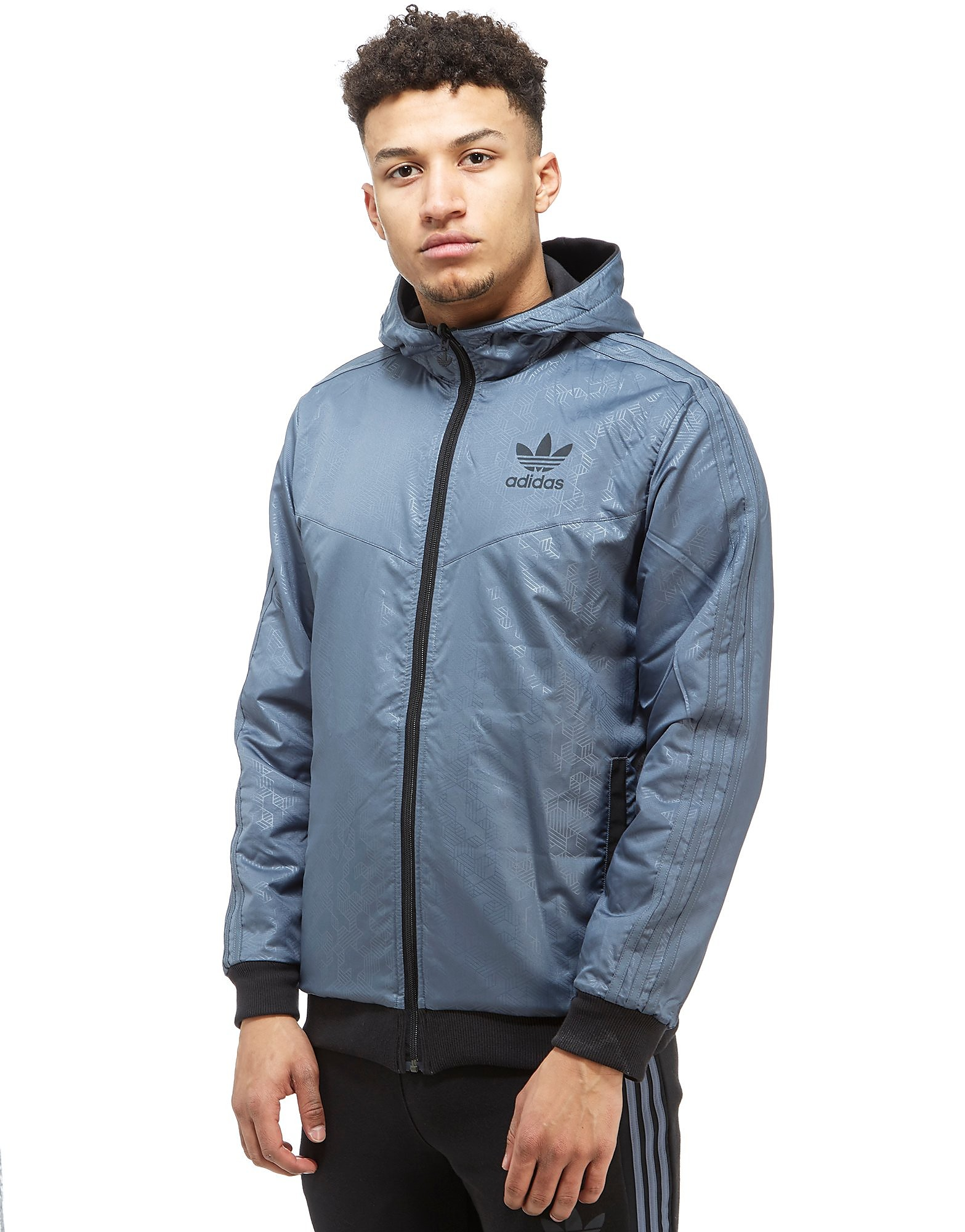 adidas Originals Street Run Reversible Zip Hoody
