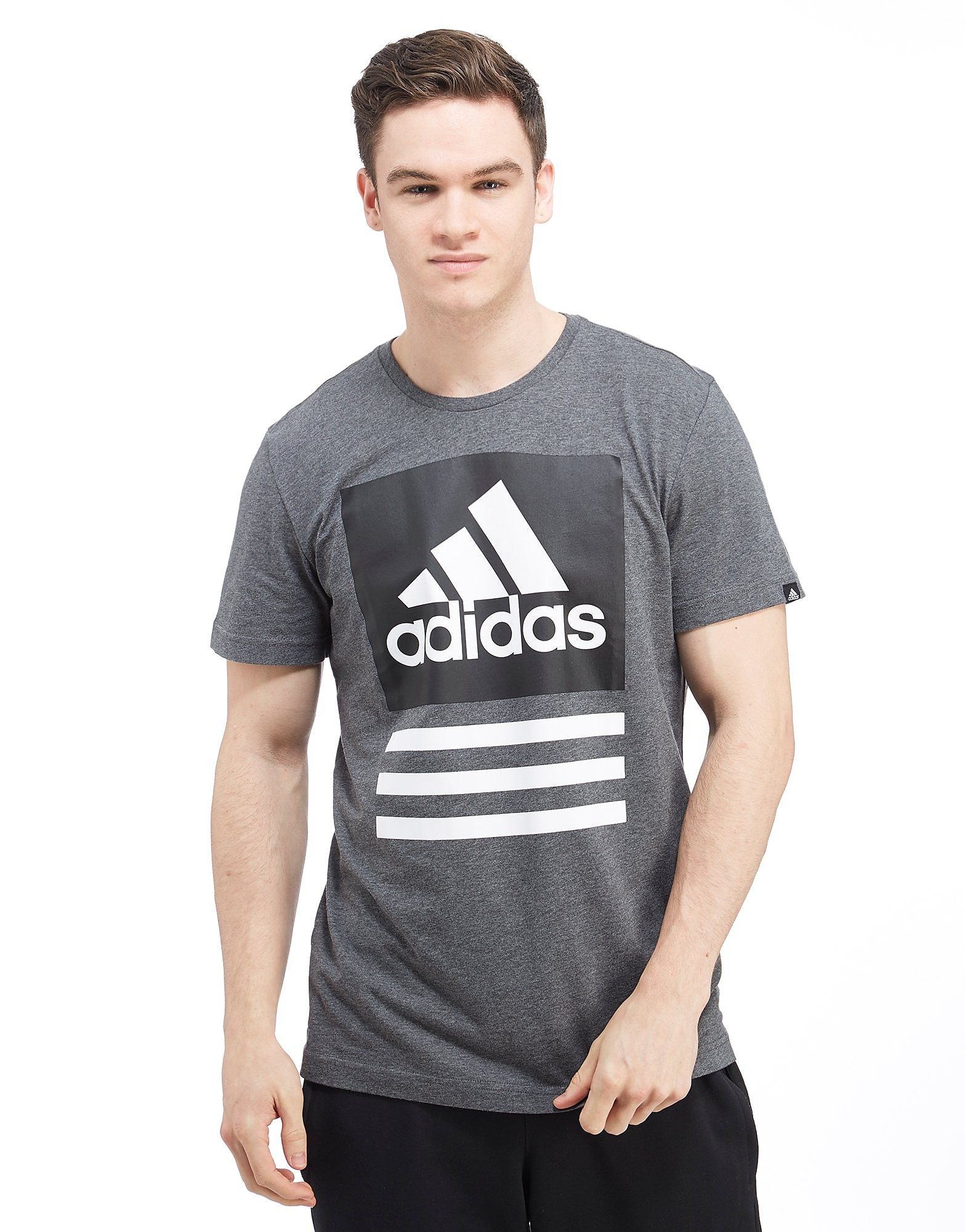 adidas Box Stack Logo T-shirt