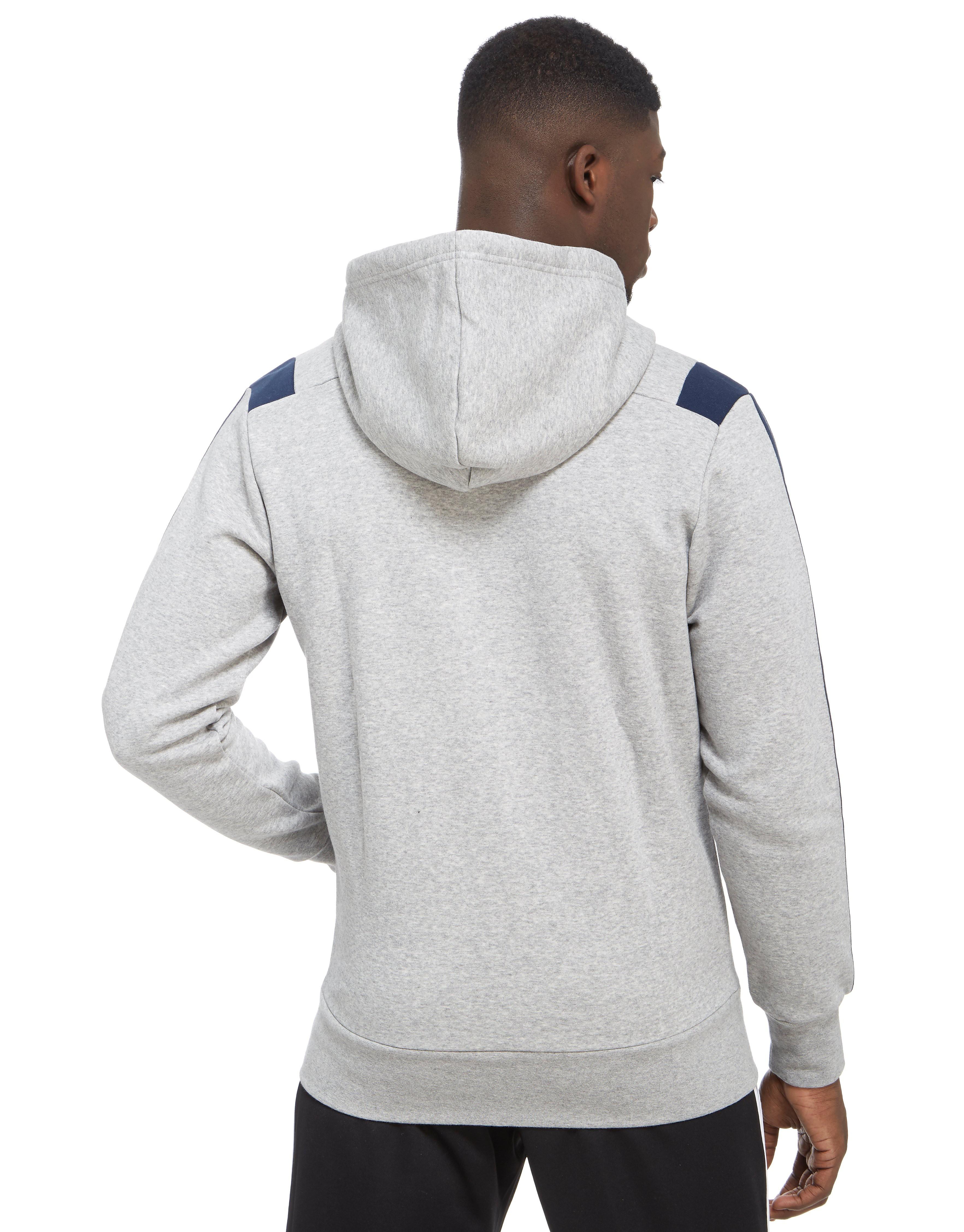 adidas 3-Stripe Essential Colour Block Full Zip Hoody