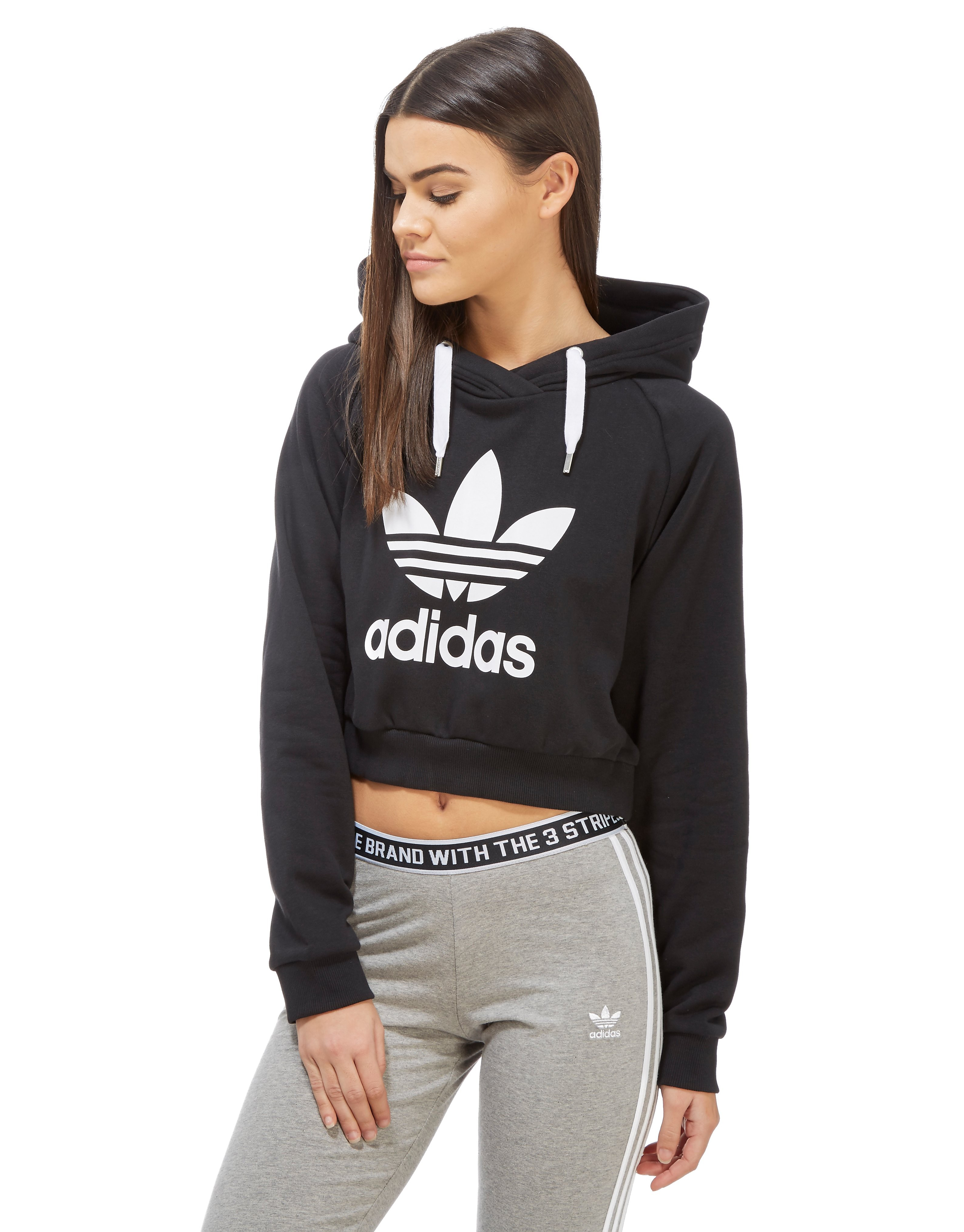 adidas Originals Trefoil Crop Hoody