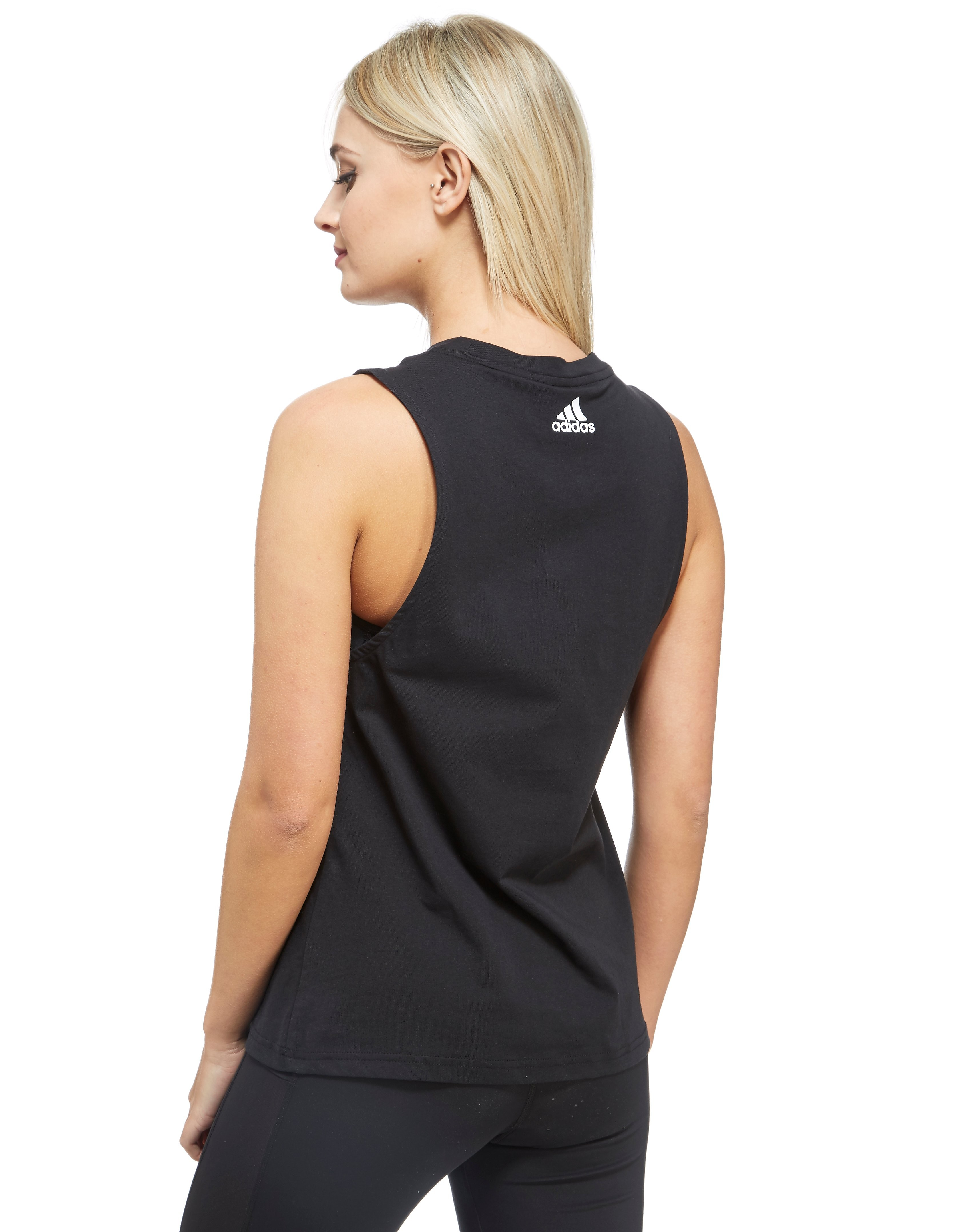 adidas Essentials Logo Block Vest