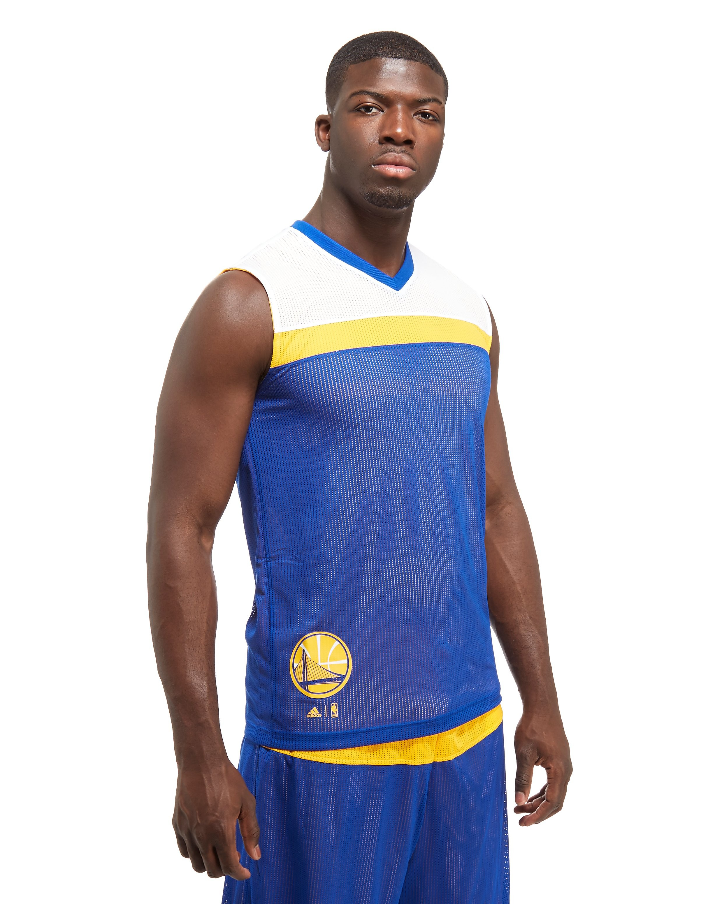 adidas Golden State Warriors Reversible Vest