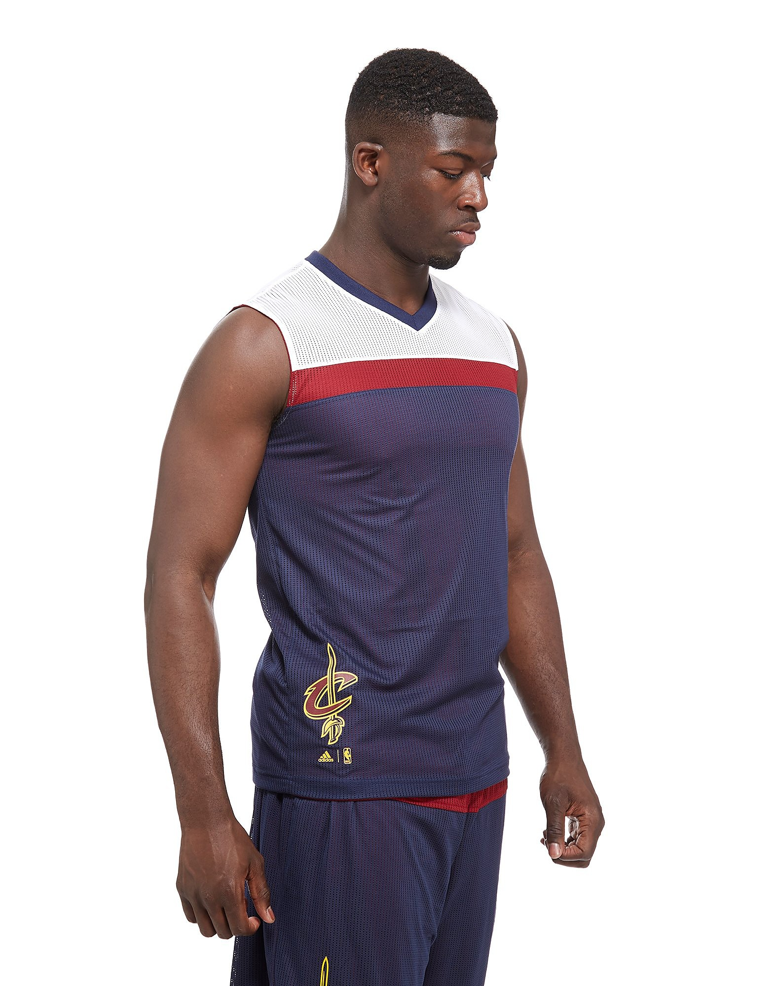 adidas Haut reversible Cleveland Cavaliers Homme