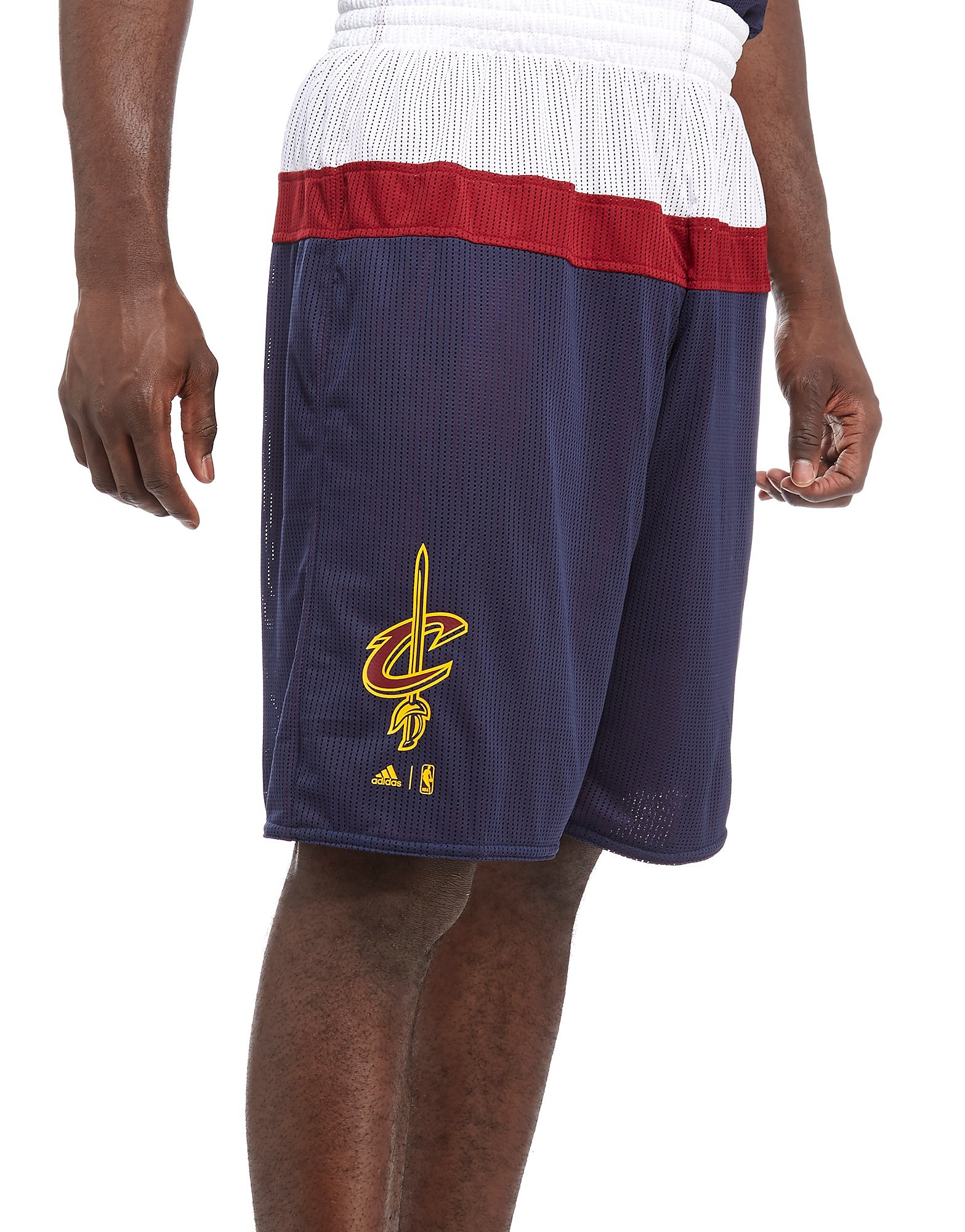 adidas Cleveland Cavaliers Reversible Shorts