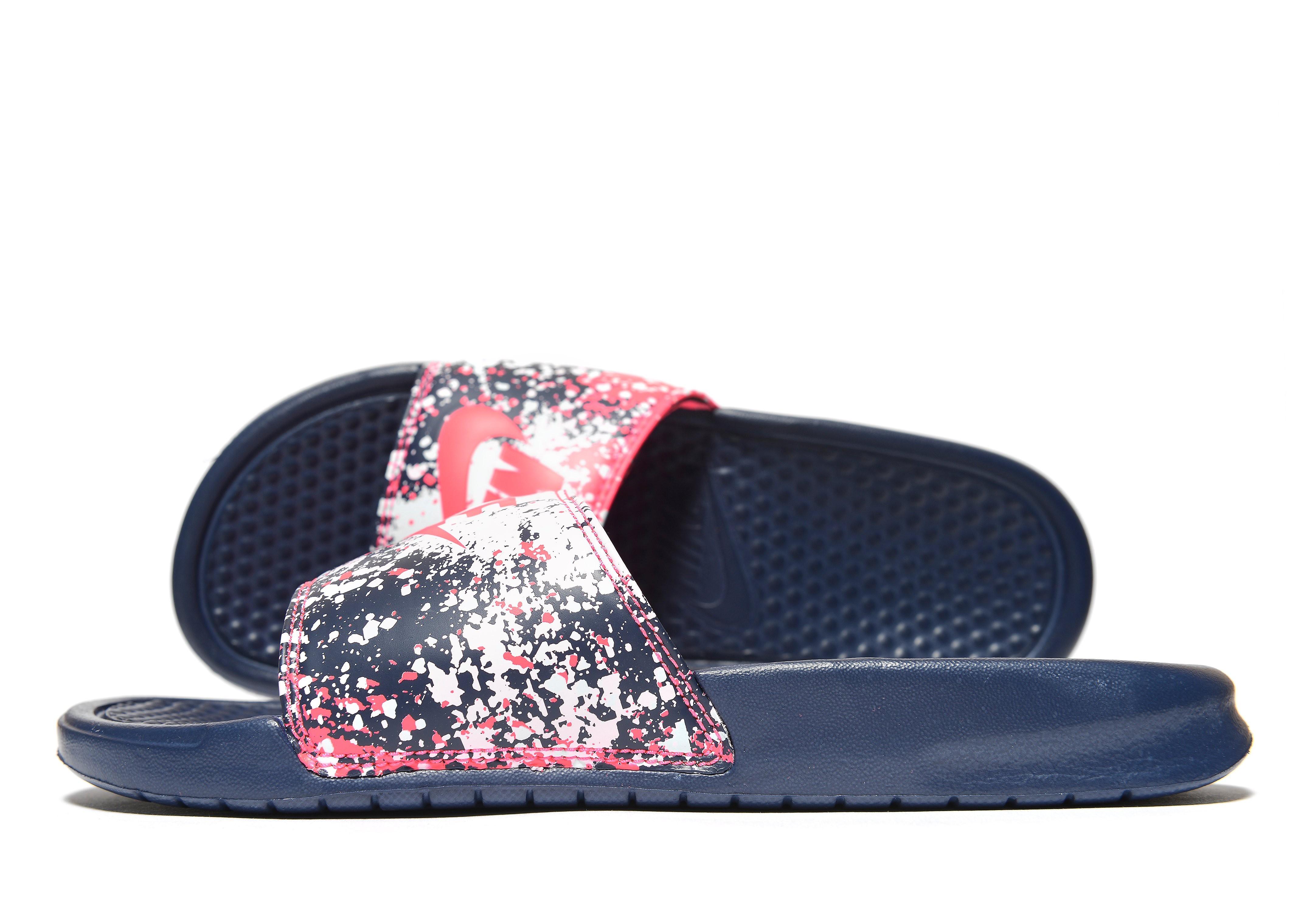 Nike Benassi Print Slides Women's