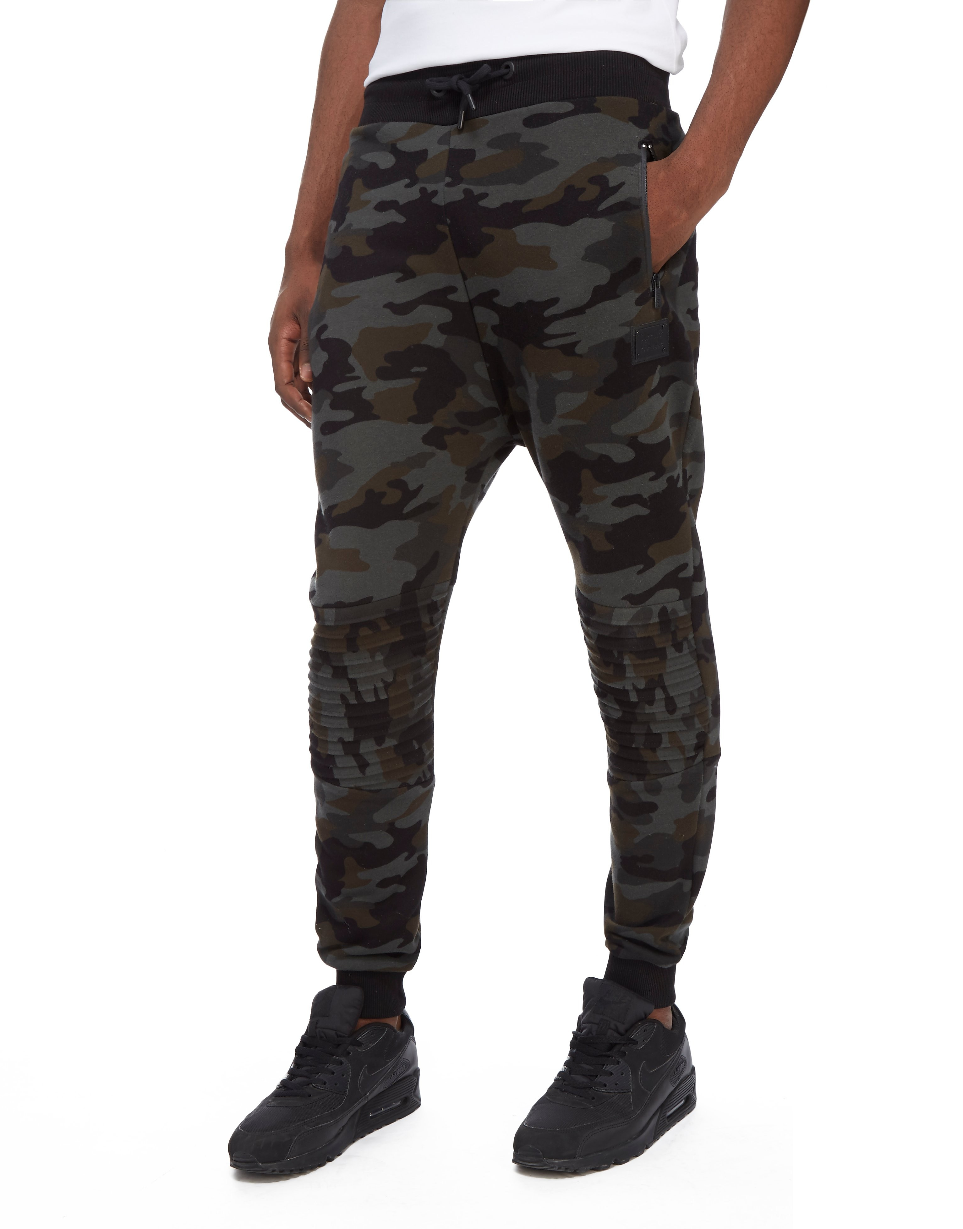Supply & Demand Green Camo Joggers