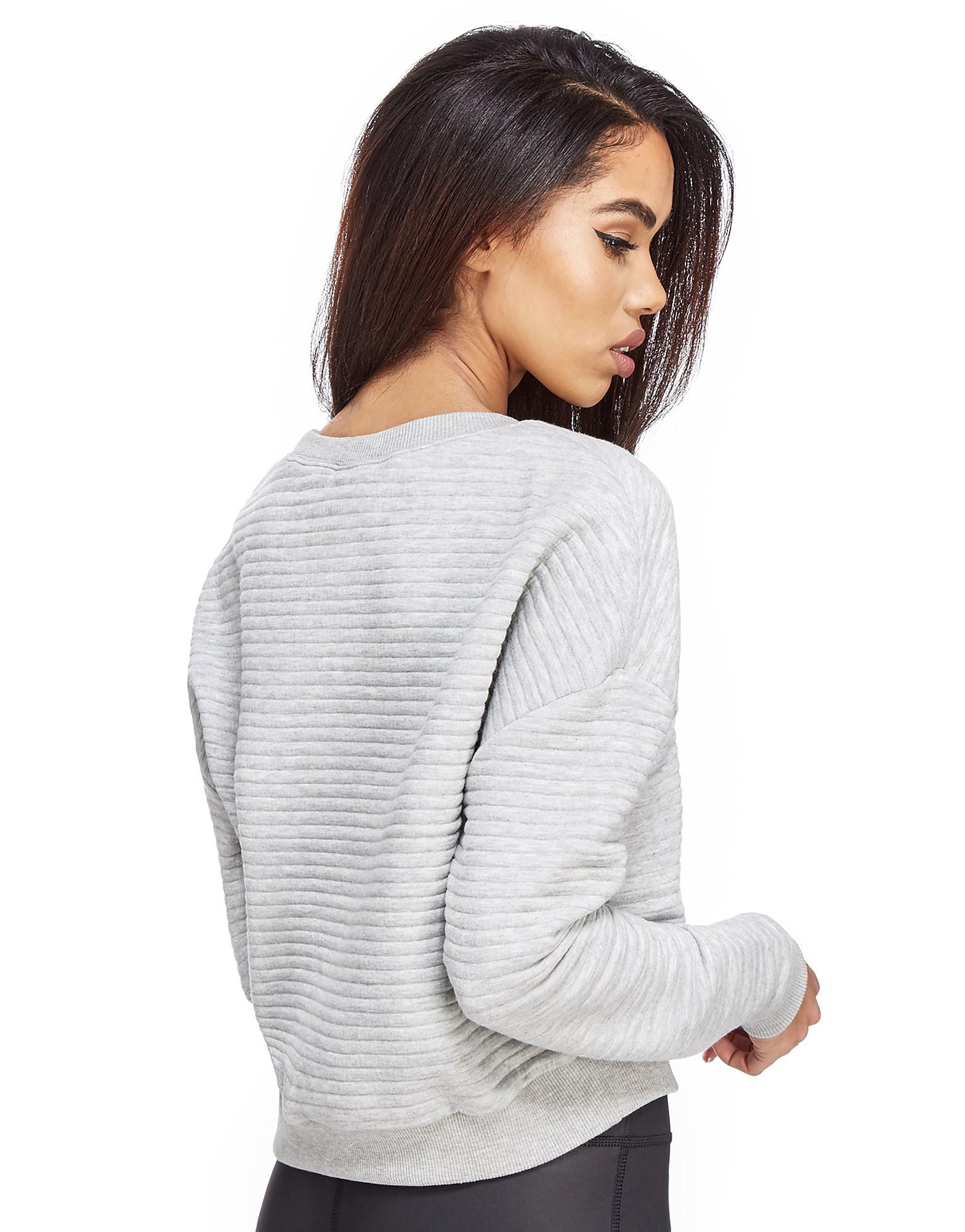 Reebok Lux Ribbed Crew Sweatshirt