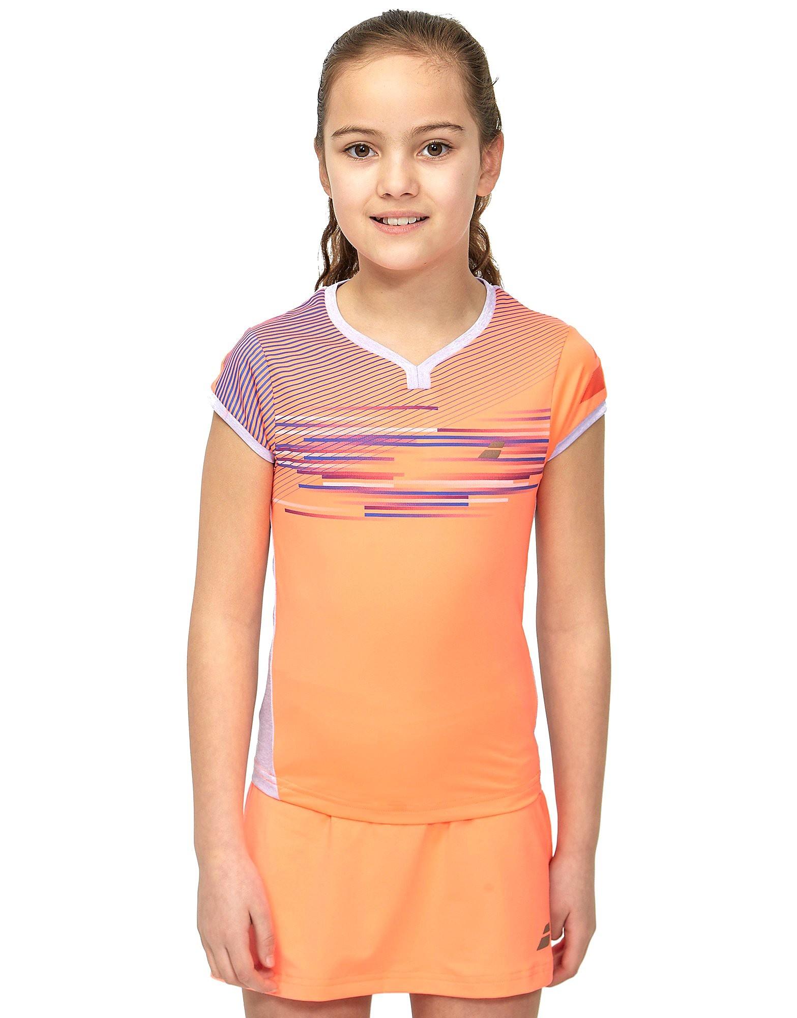 Babolat Performance Cap Sleeve Tennis T-Shirt Junior