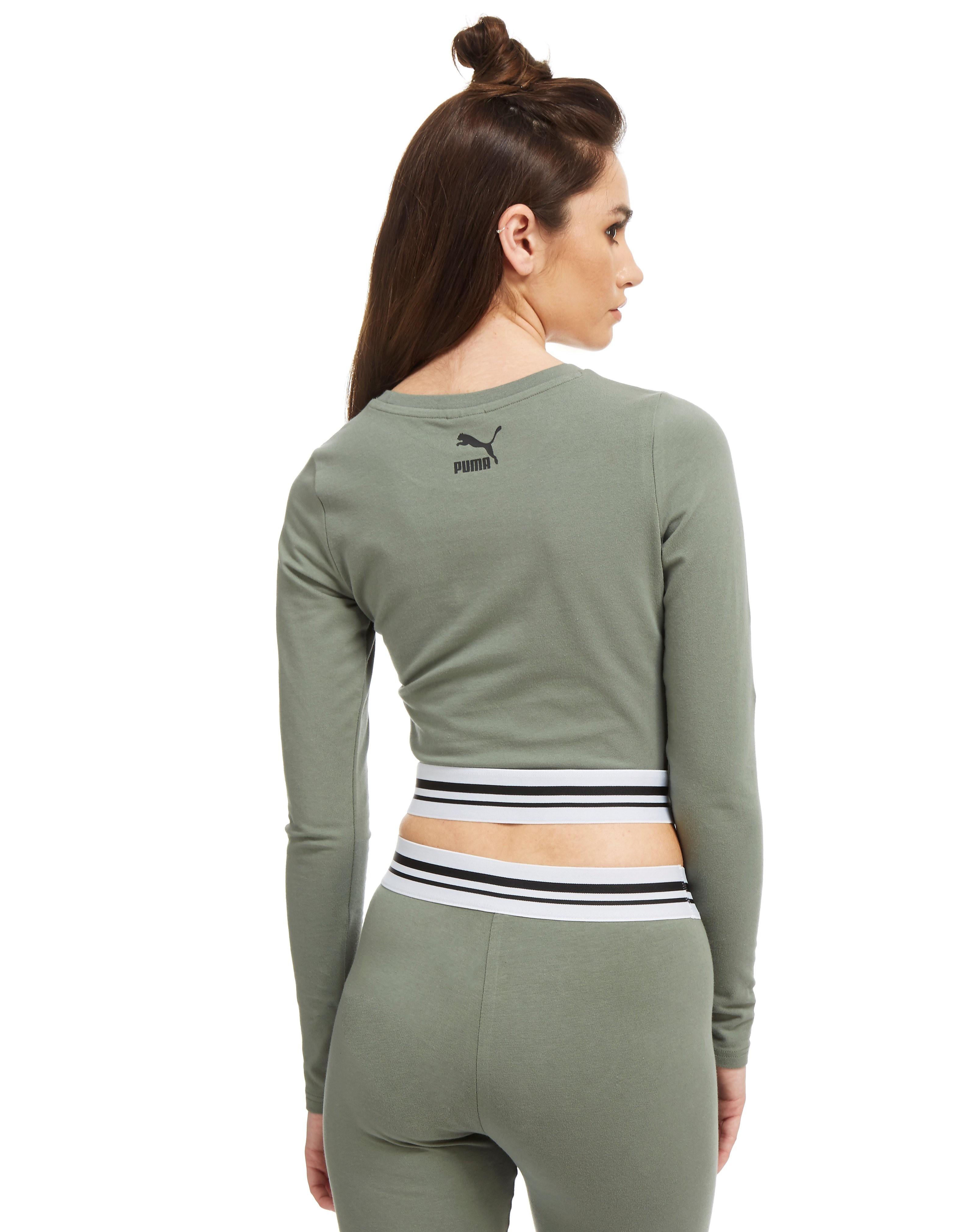 PUMA T-shirt manche longue Gloss Femme