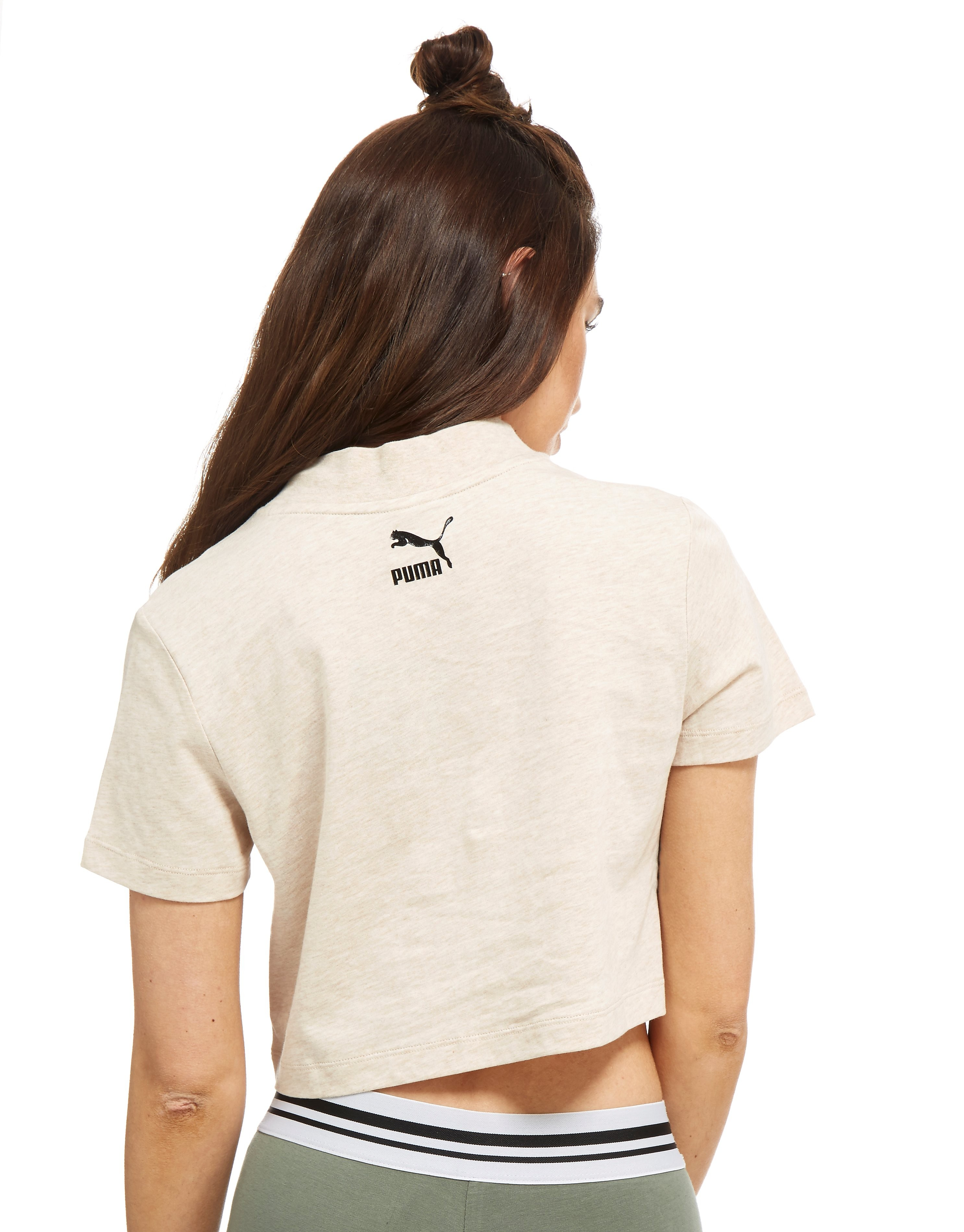 PUMA High Neck Crop T-Shirt
