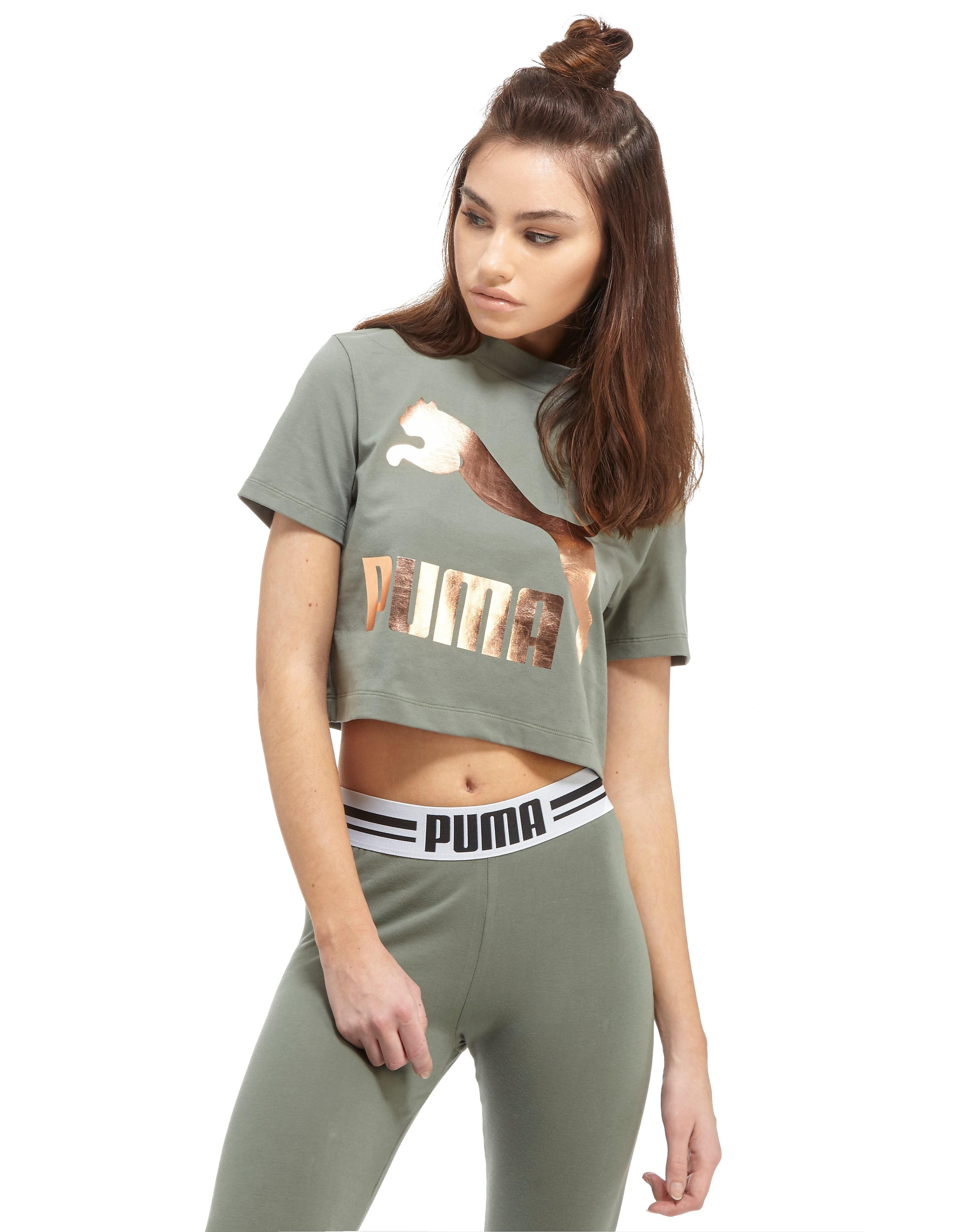 PUMA High Neck Crop T-Shirt