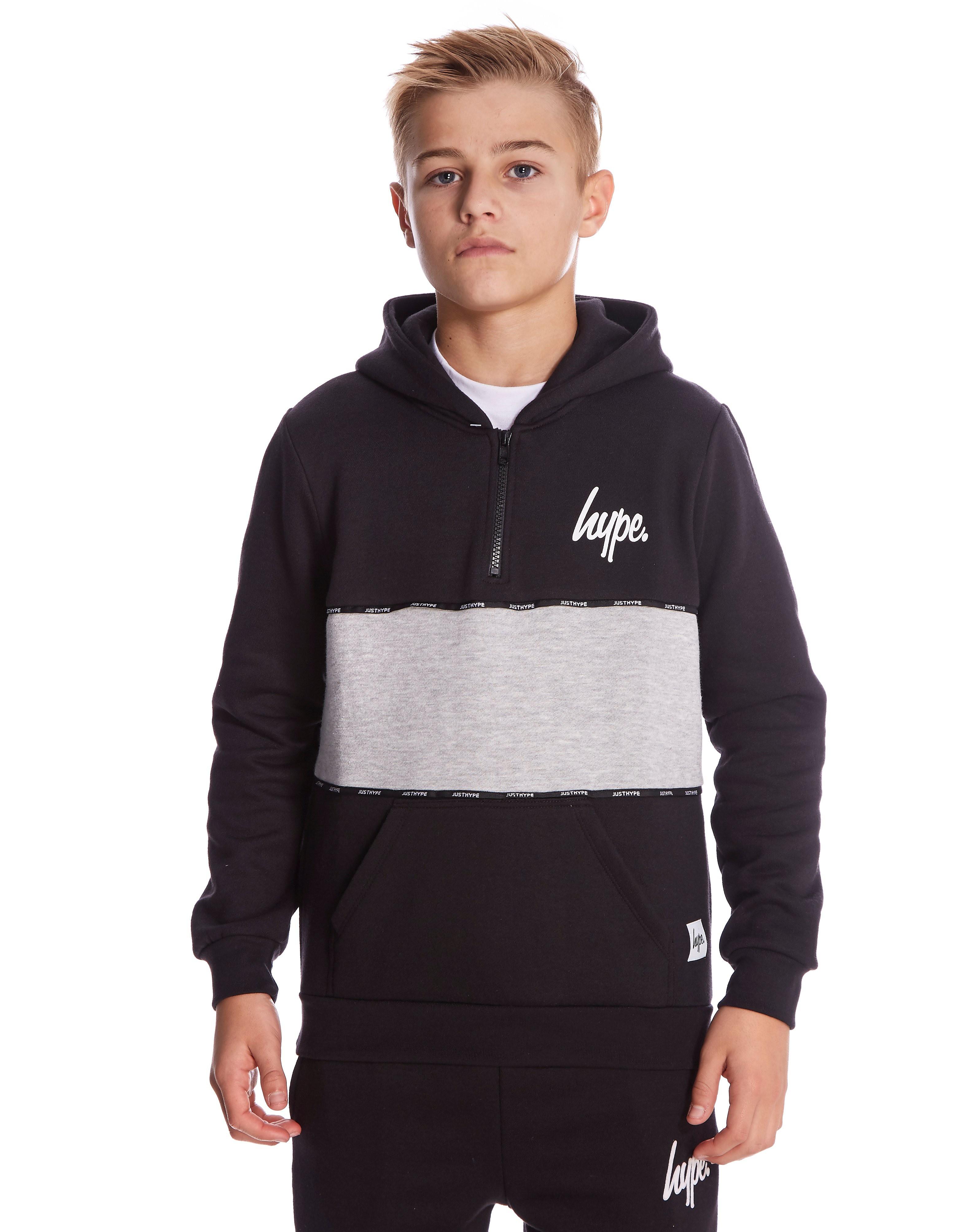 Hype Quarter Zip Hoody Junior