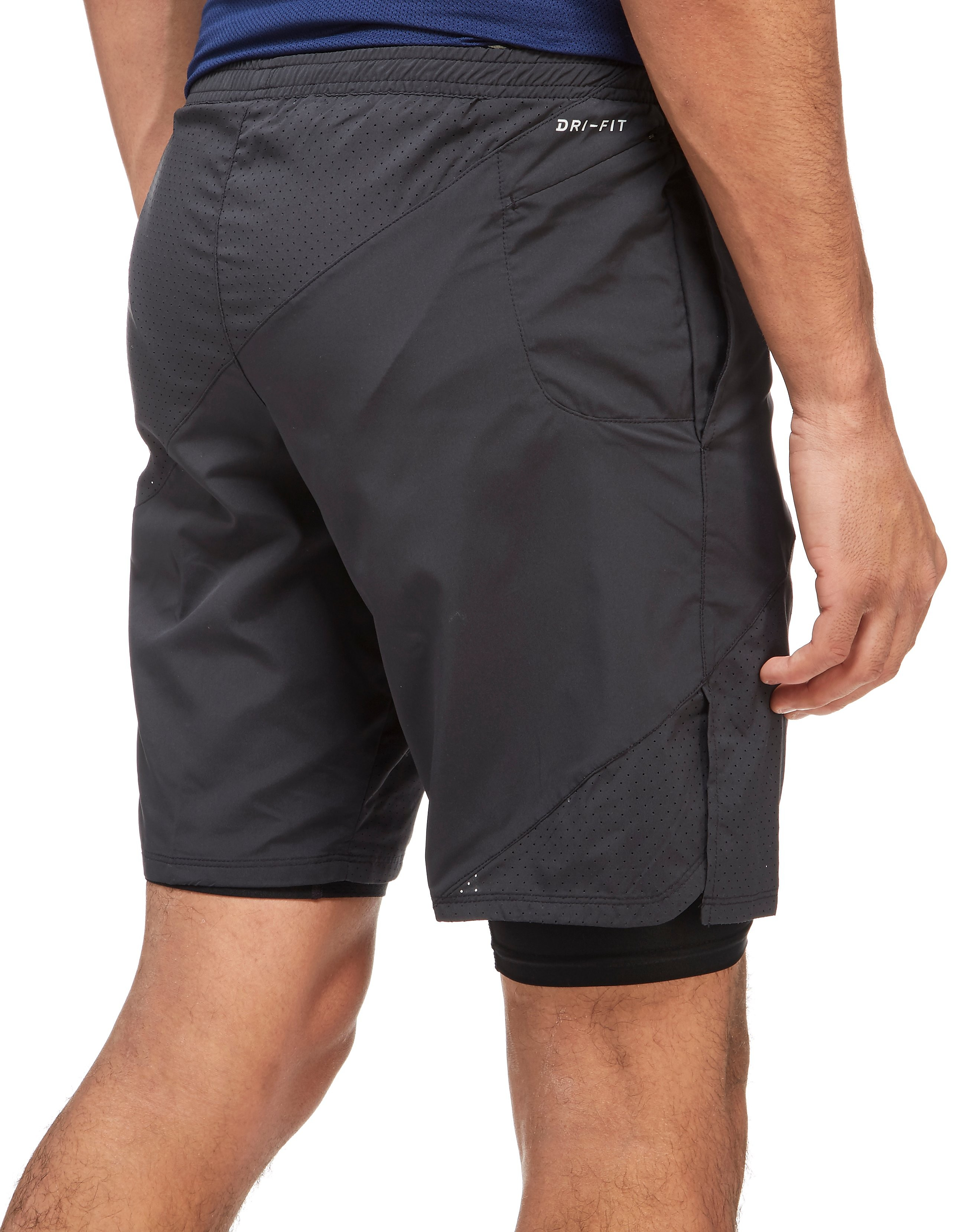 "Nike 9"" Distance 2-In-1 Shorts"
