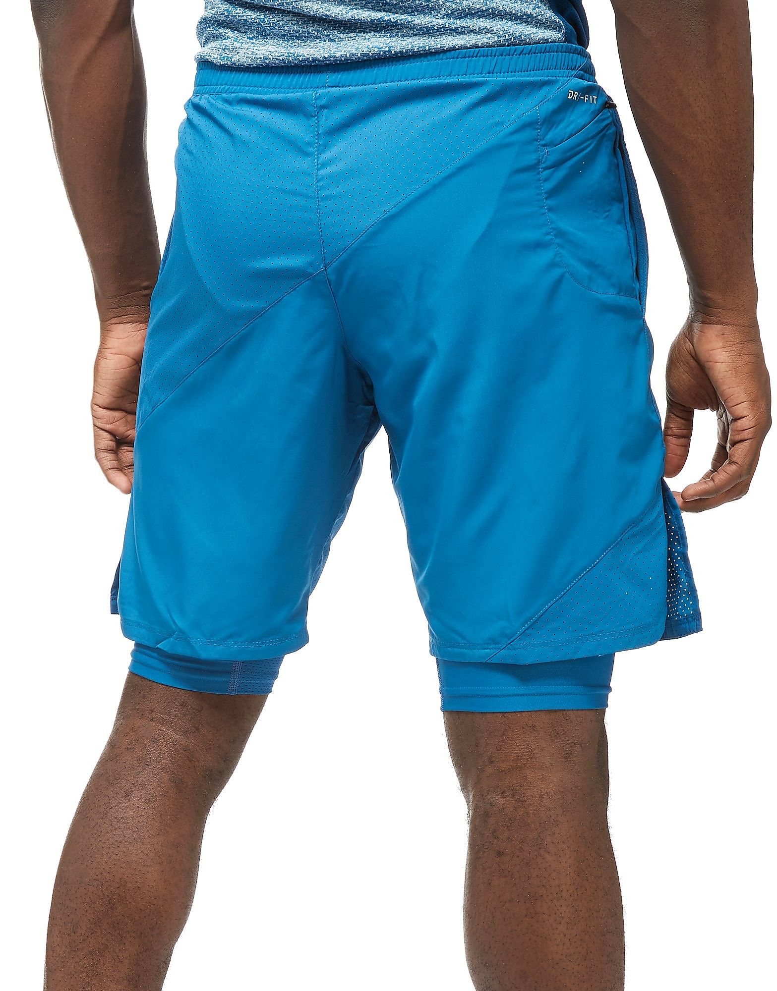 """Nike 9"""" Distance 2-In-1 Shorts"""