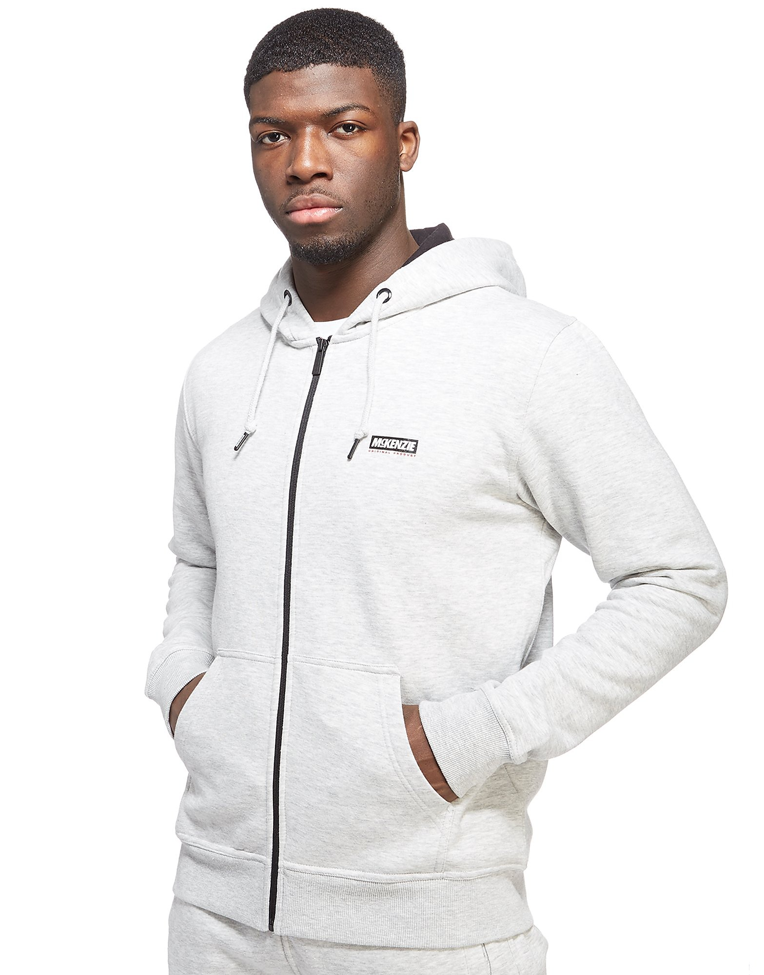 McKenzie Wesley Zip Through Hoodie Heren