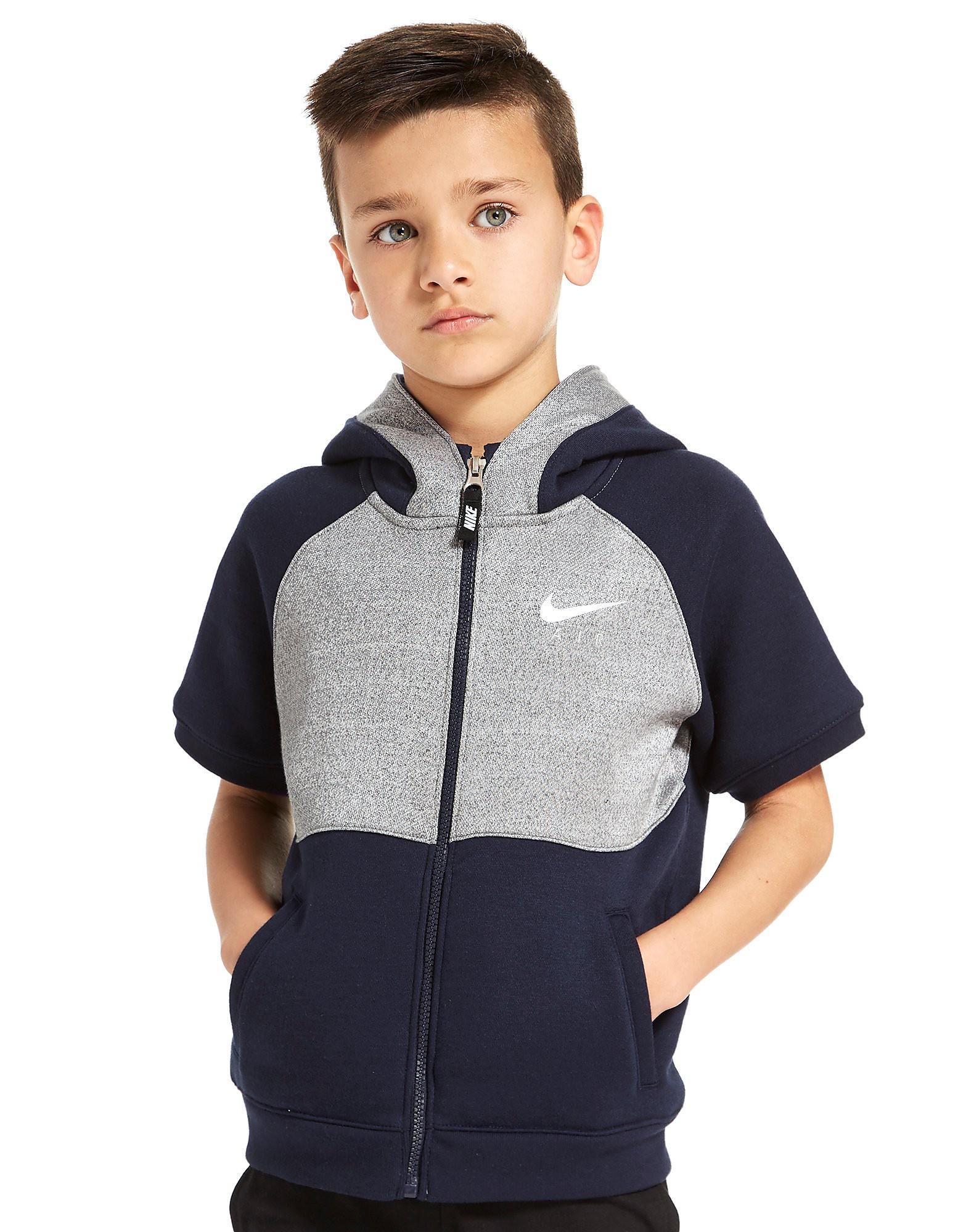 Nike Air Sleeveless Hoodie Children - alleen bij JD - Obsidian/Dark Grey - Kind