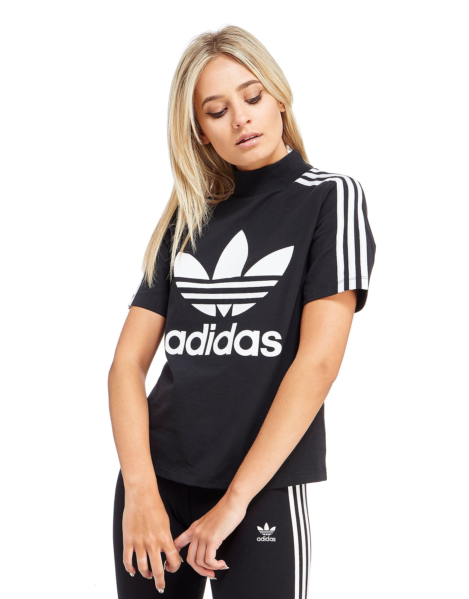 adidas Originals Mock Neck T-shirt