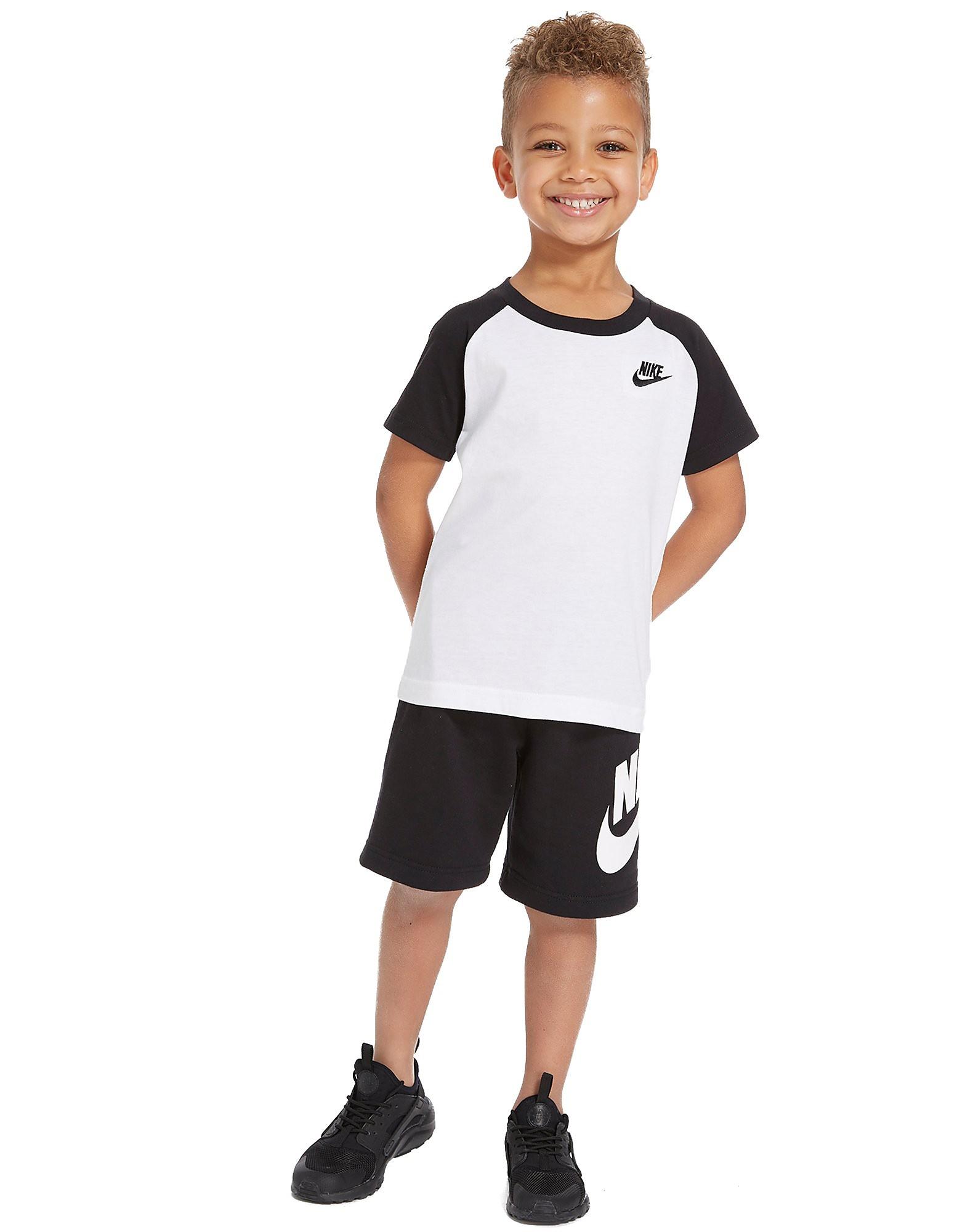 Nike Sportswear Raglan T-Shirt + Short Set Children