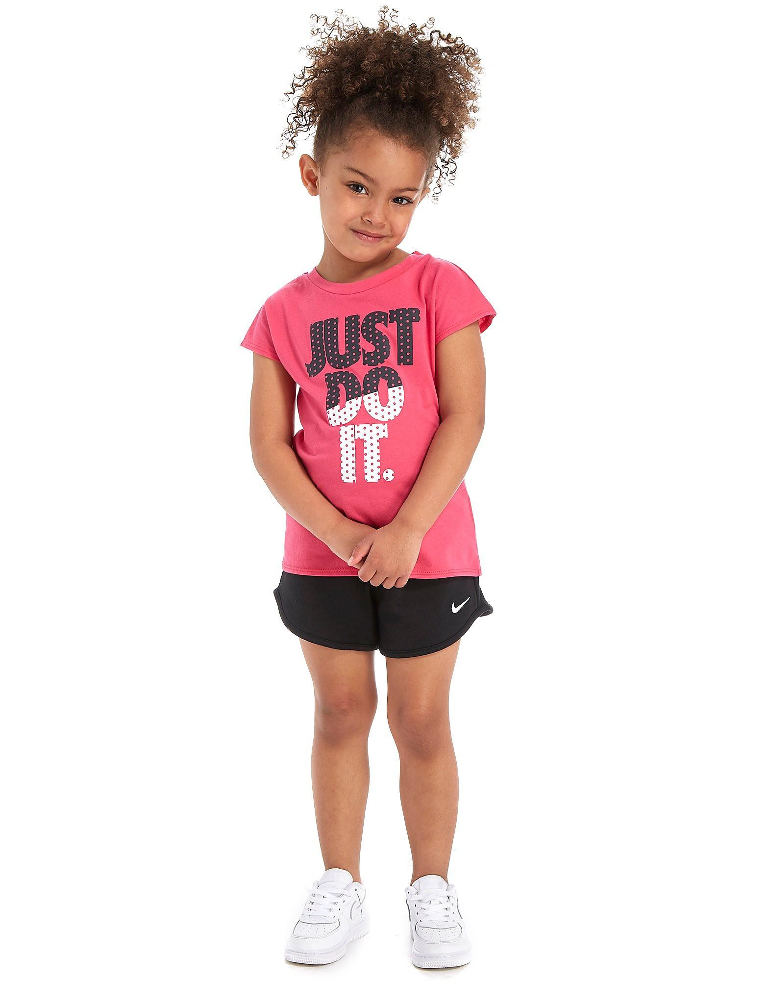 Nike Girls' T-Shirt + Short Set Children