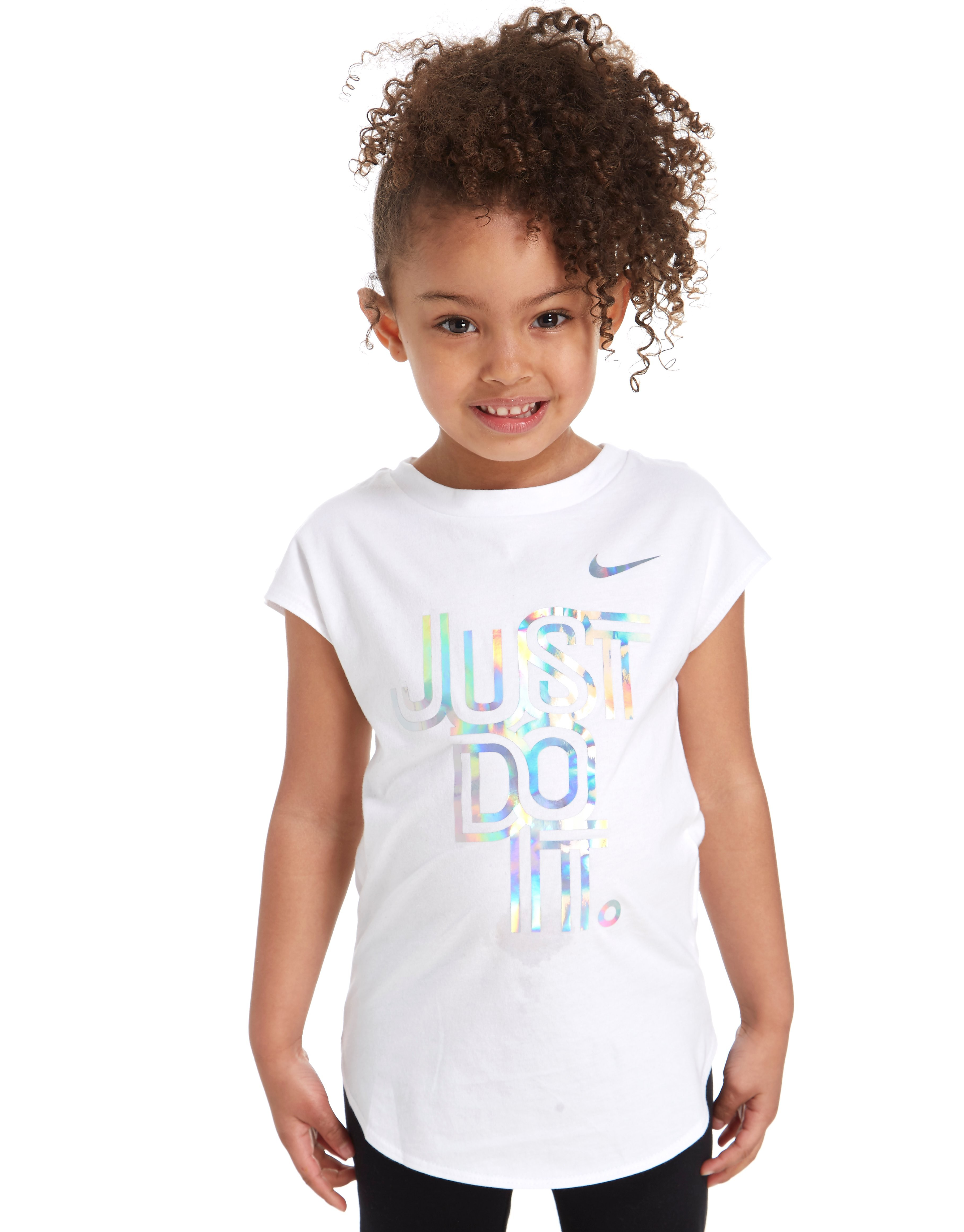 Nike Girls' Iridescent T-Shirt Children