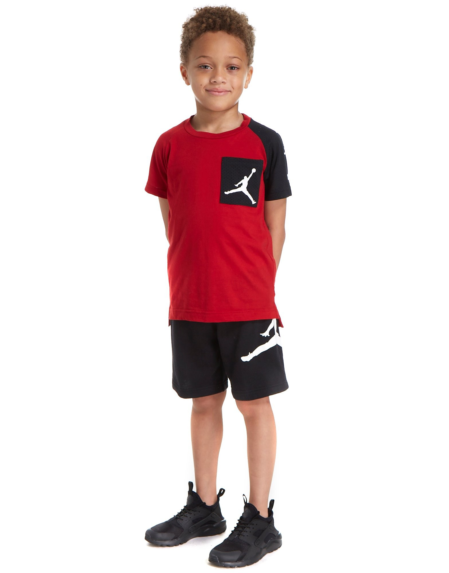 Jordan Air T-Shirt and Short Set Children