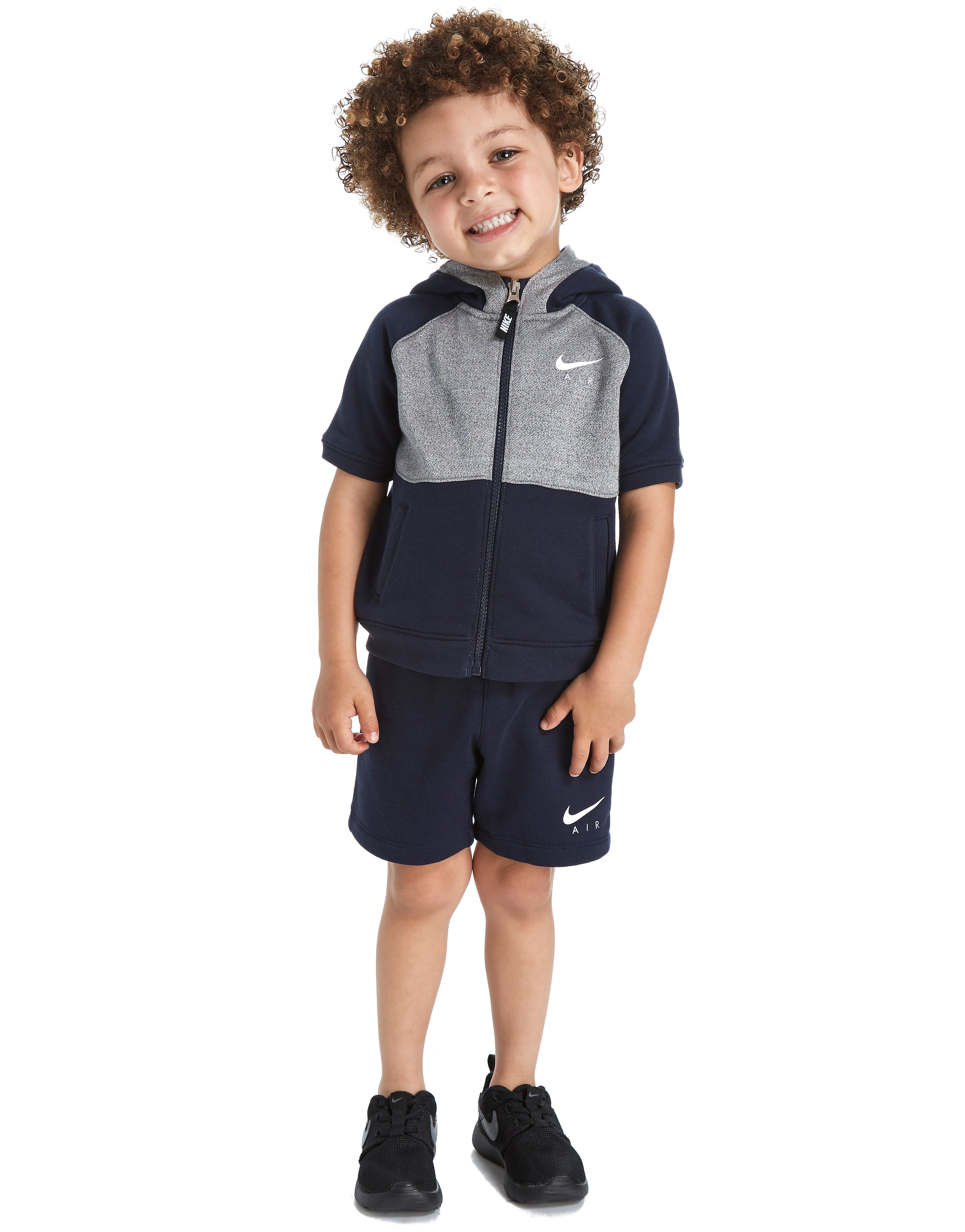 Nike Air Short Sleeve Hoodie Suit Infant
