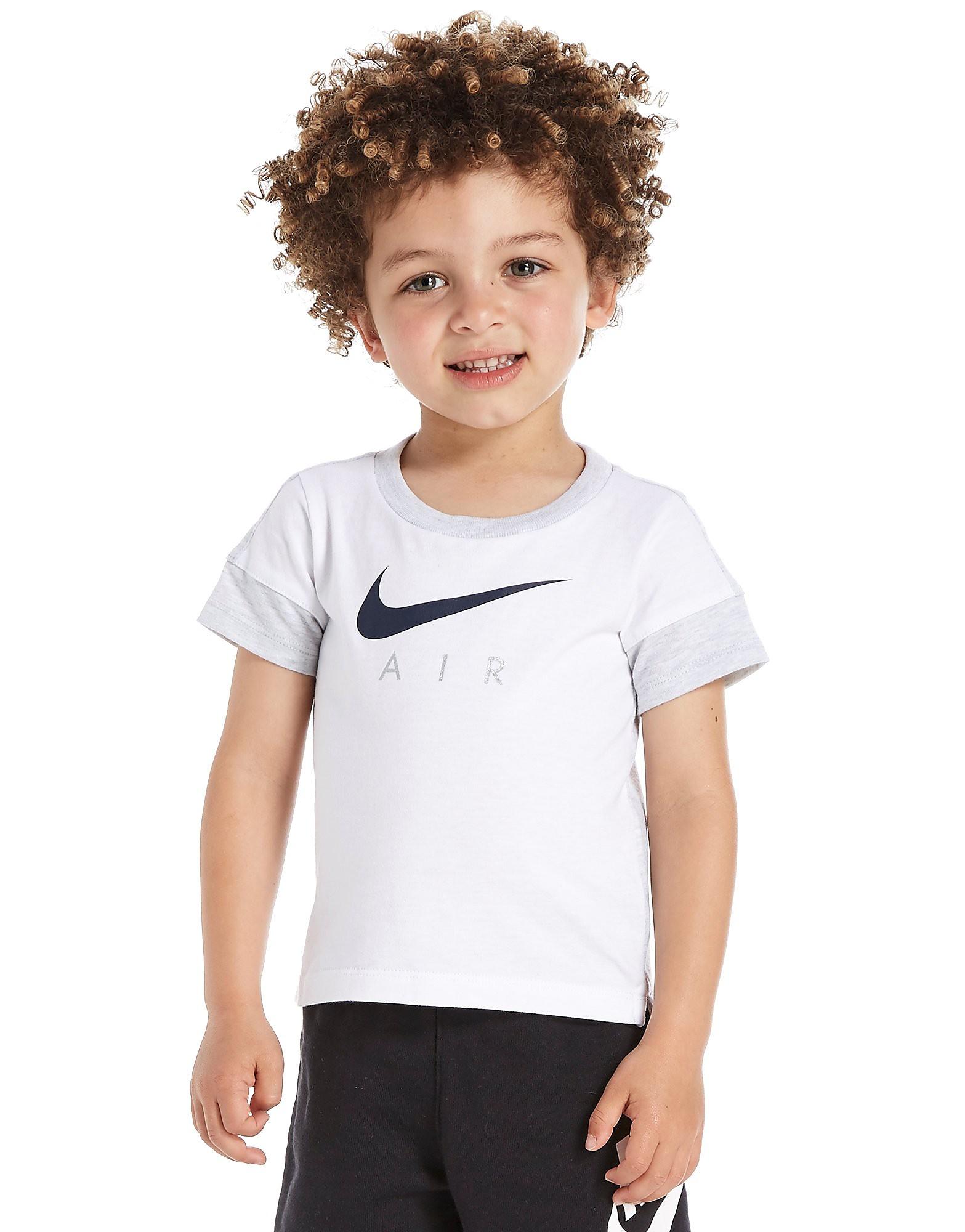 Nike Air T-Shirt Infant - Only at JD - White/Grey Marl, White/Grey Marl