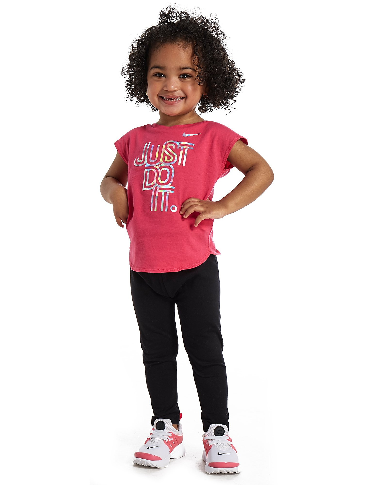 Nike T-shirt iridescente Bambina